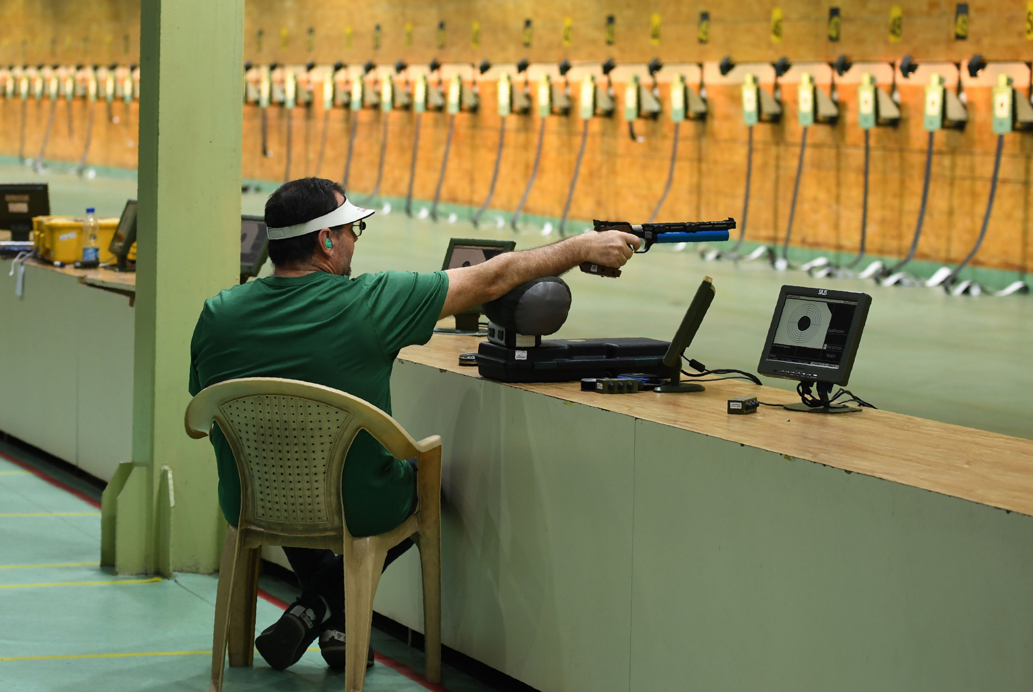 Confusion reigns over whether Pakistani athletes will be able to compete at the ISSF World Cup in New Delhi starting tomorrow ©Getty Images