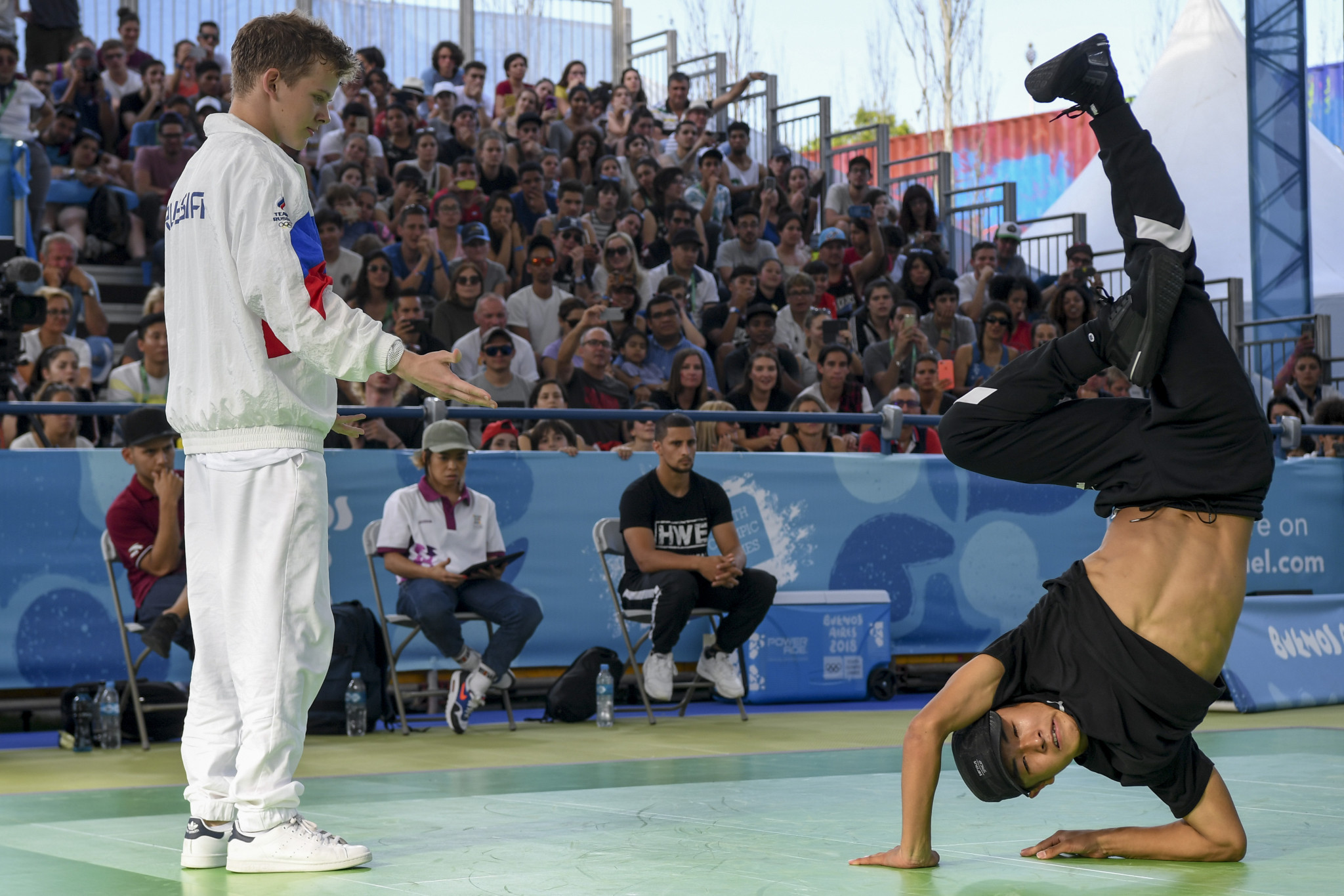 Breakdancing has emerged as a serious contender for inclusion on the Olympic programme at Paris 2024 ©Getty Images