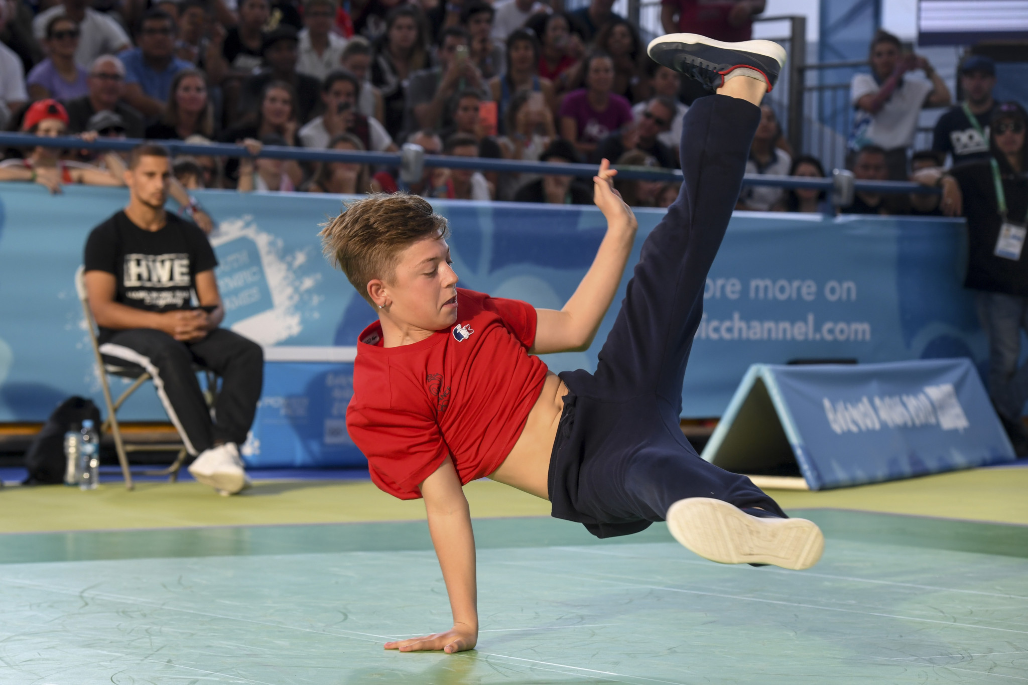 Breakdancing's addition at Paris 2024 would continue the IOC's focus on urban sports popular with youngsters ©Getty Images