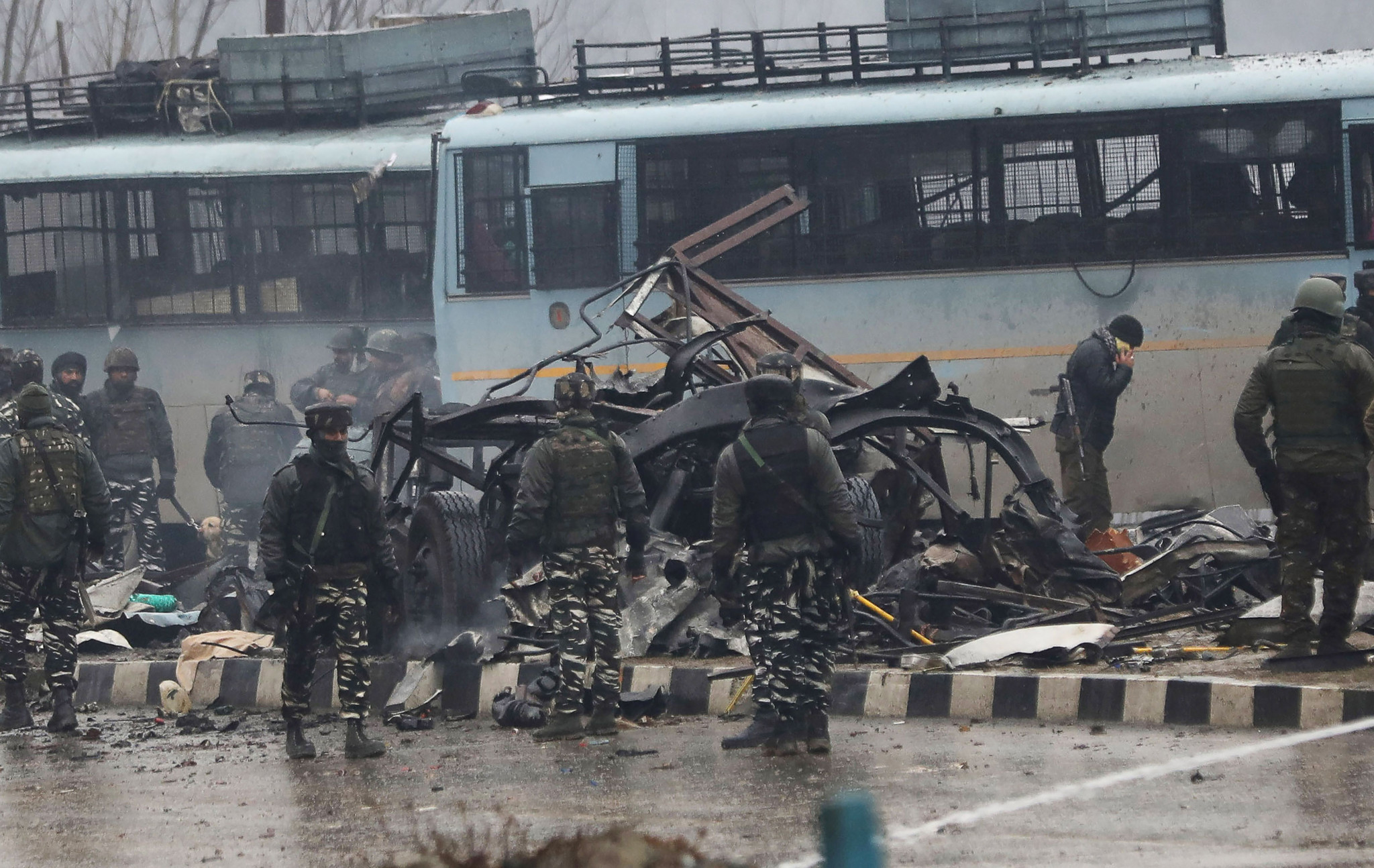 A terrorist attack in Pulwama, which a Pakistan group claimed responsibility for, has led to doubts over whether competitors from that country can take part in the ISSF World Cup in New Delhi ©Getty Images