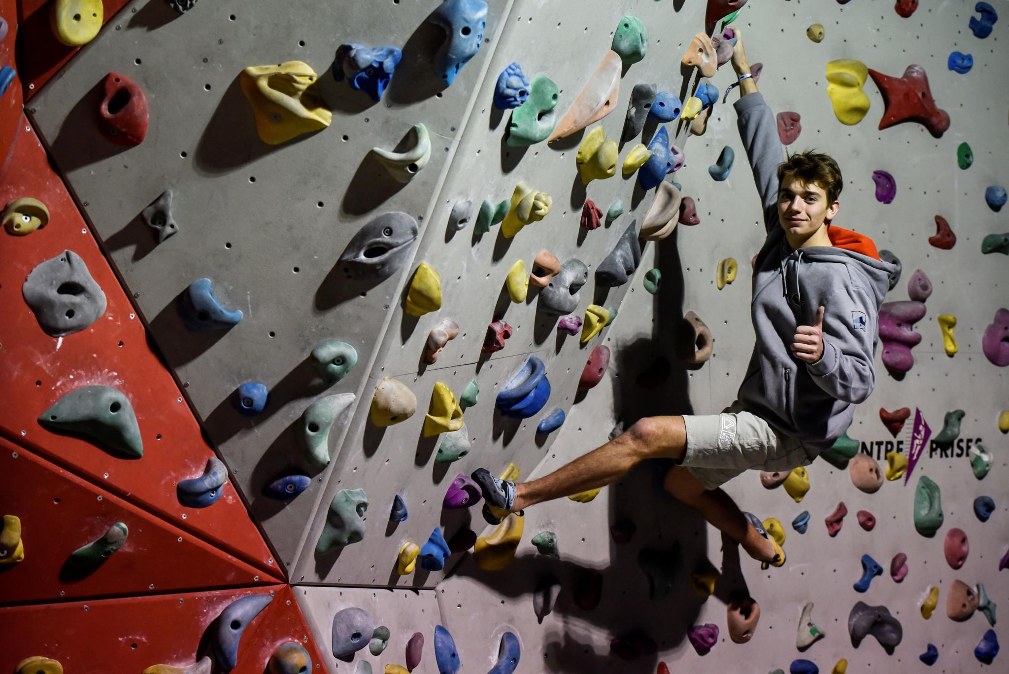 IFSC President hails sport climbing&20;s