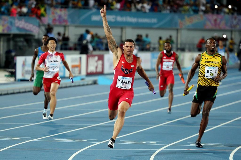Bolt and Jamaica beaten in IAAF World Relays after Gatlin's inspired leg