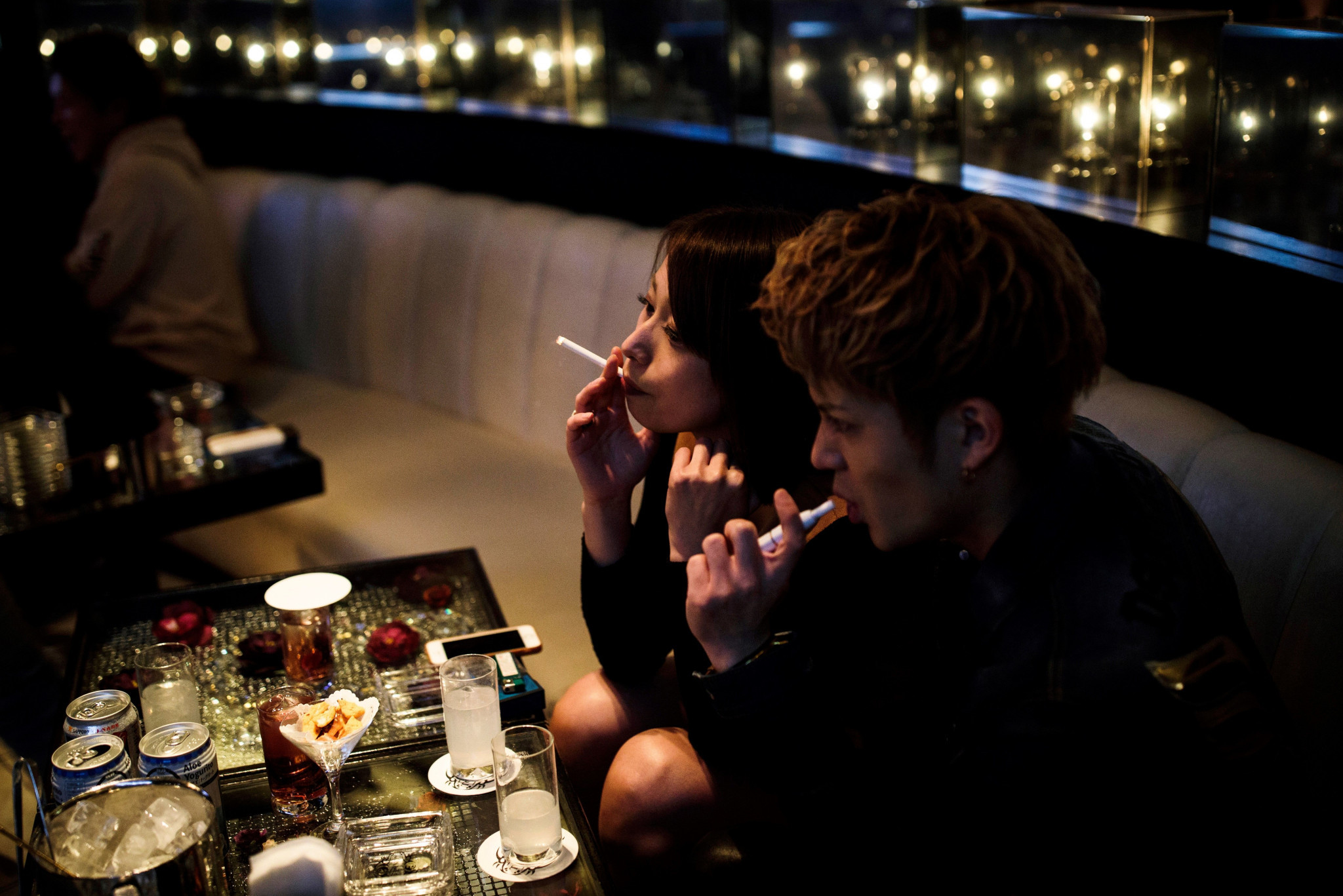 It is still legal to smoke in many public places in Japan, despite the introduction of new legislation ©Getty Images
