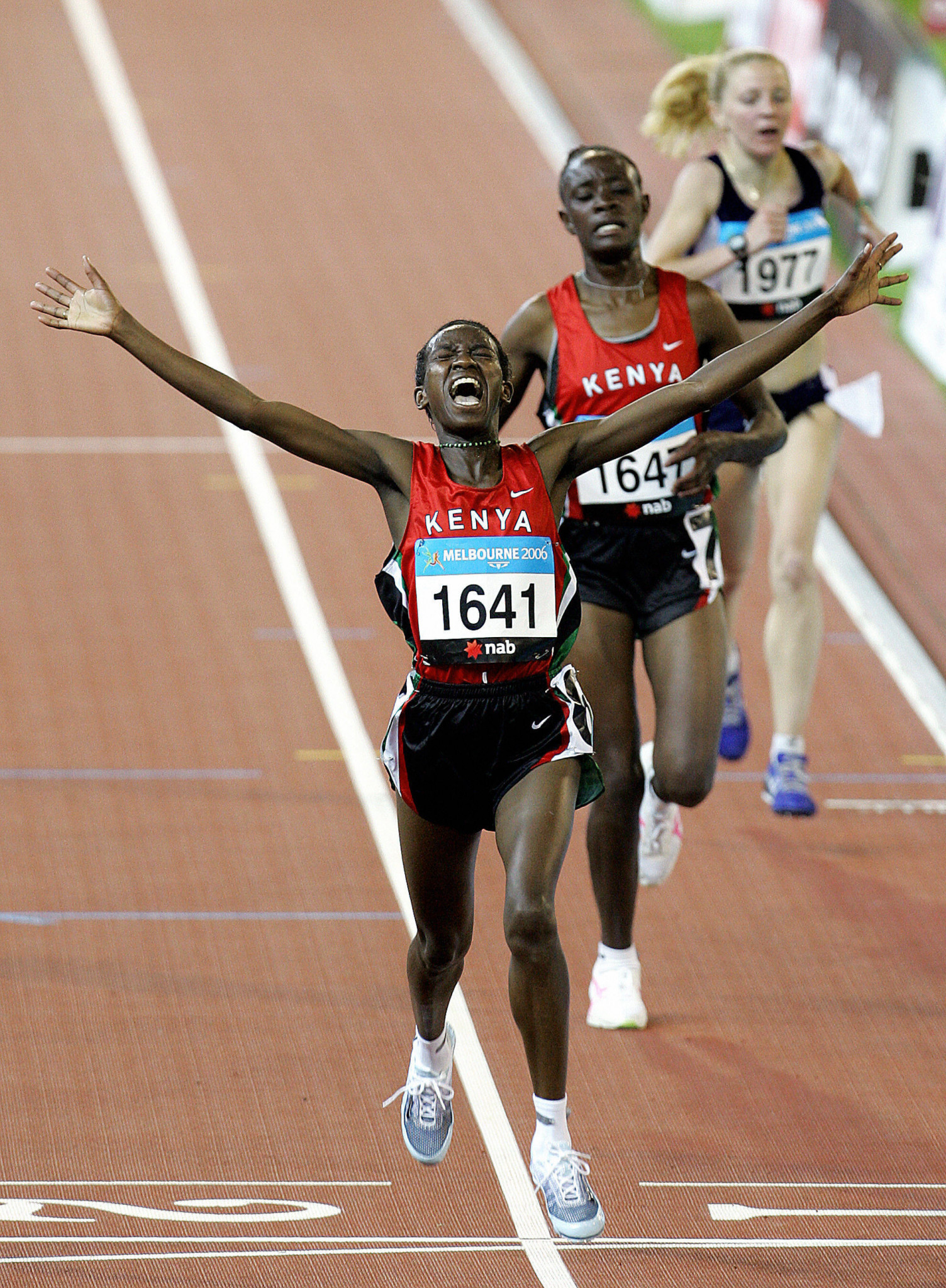 Kenya's 2006 Commonwealth Games 10,000 metres gold medallist Lucy Wangui Kabuu has been suspended for two years after a positive drugs test last April ©Getty Images