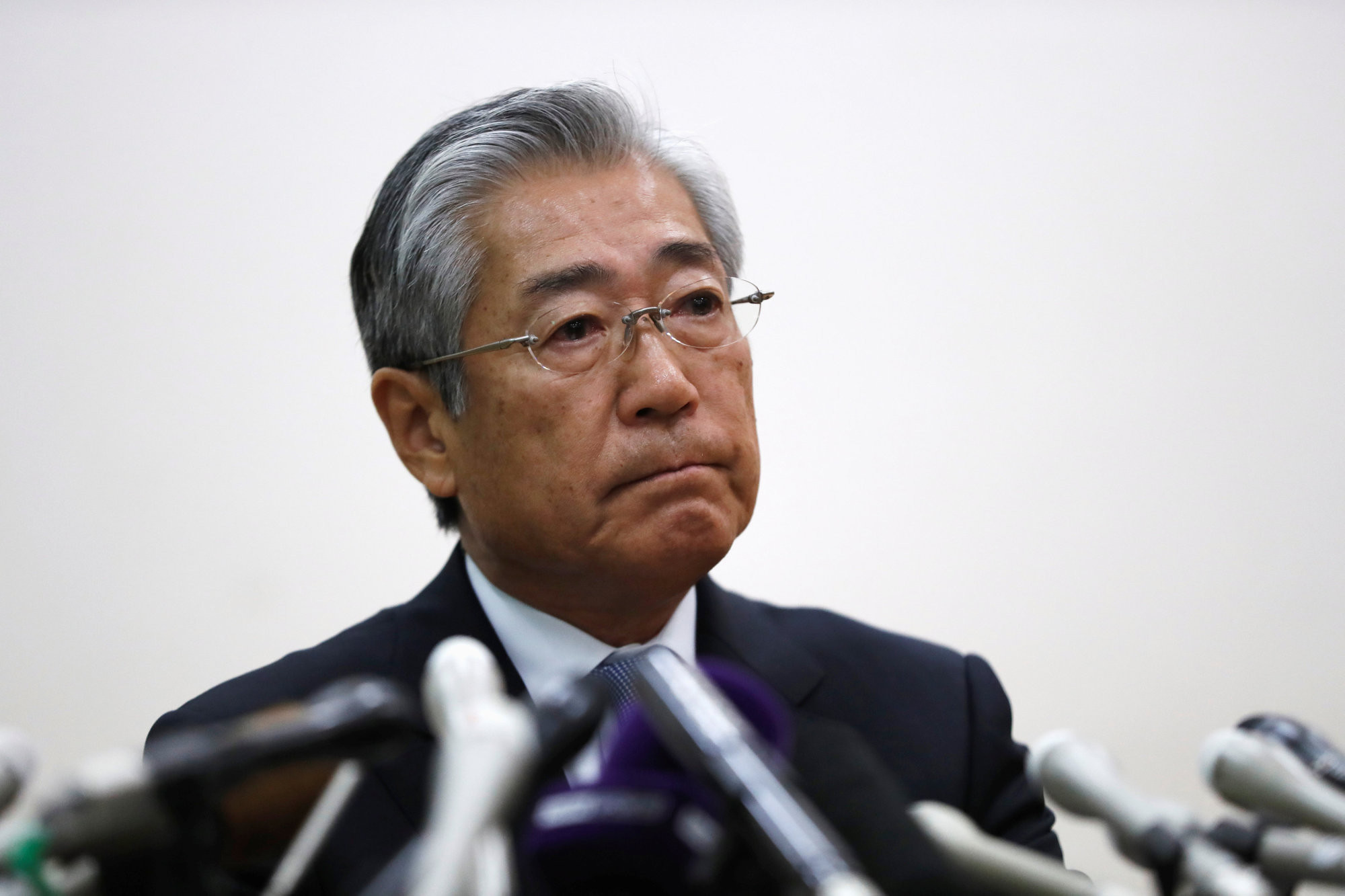 Tsunekazu Takeda, President of the Japanese Olympic Committee, has been under pressure since he was implicated in a bribery scandal linked to Tokyo's successful bid for the 2020 Olympic and Paralympic Games ©Getty Images