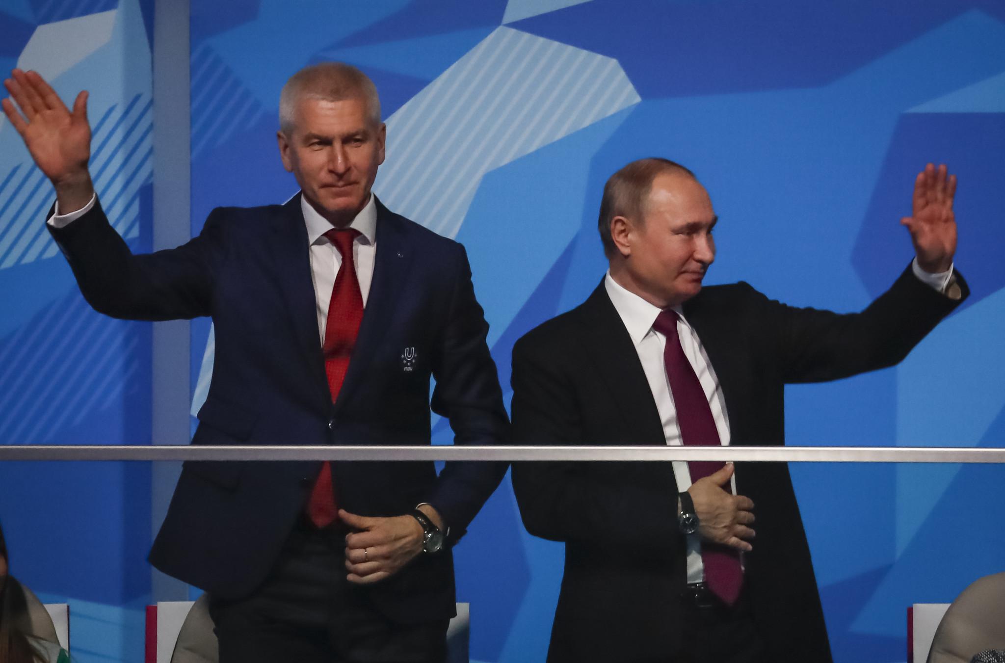 Putin opens Krasnoyarsk 2019 Winter Universiade as Opening Ceremony celebrates Siberia's history and cultural traditions