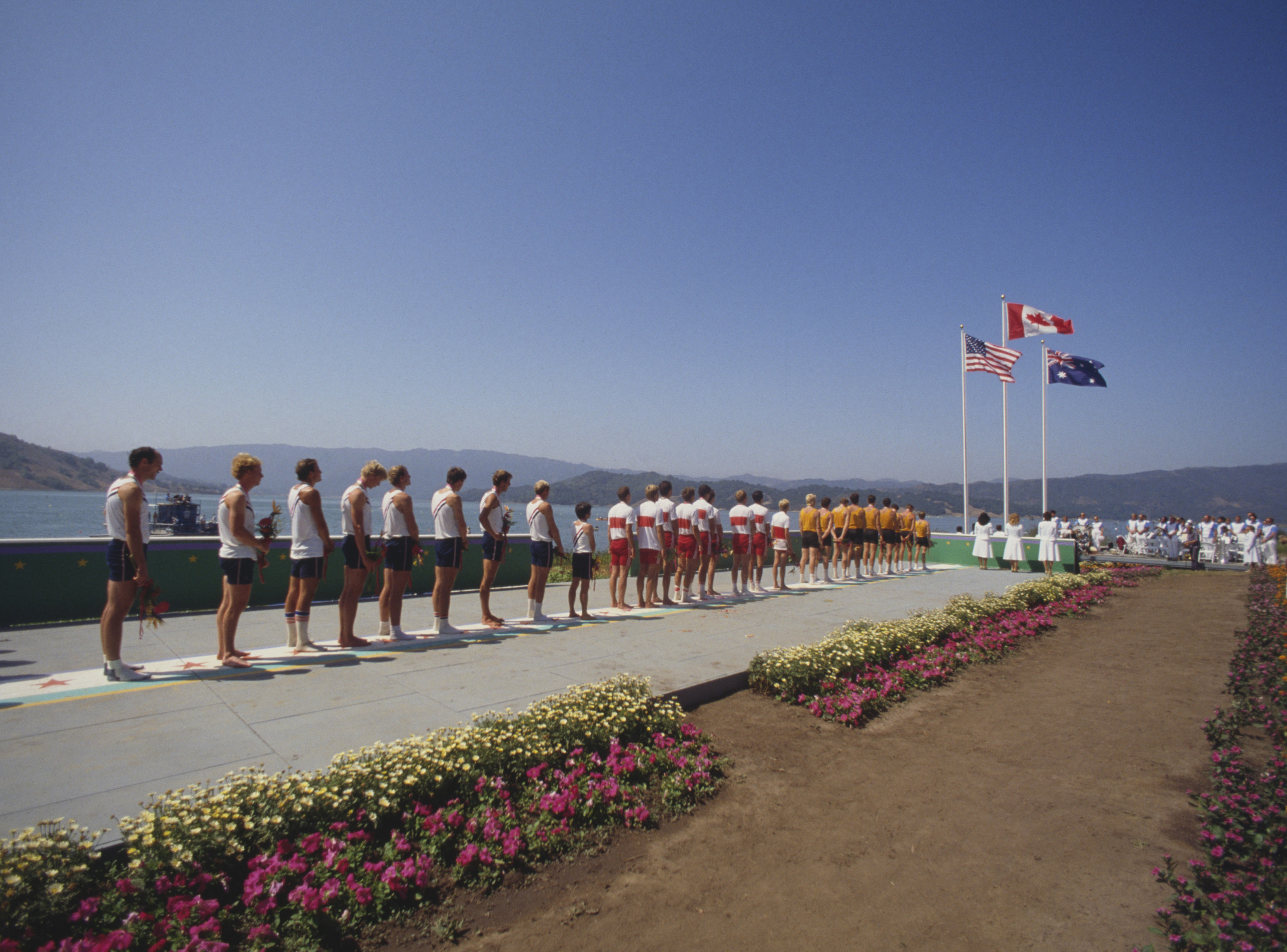 Extreme weather takes toll on Los Angeles 1984 Olympic rowing venue