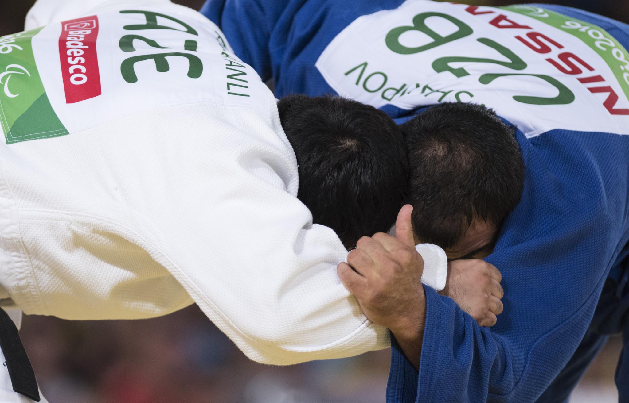 "IBSA Judo Grand Prix in Baku given slogan ""Triumph of Spirit"""