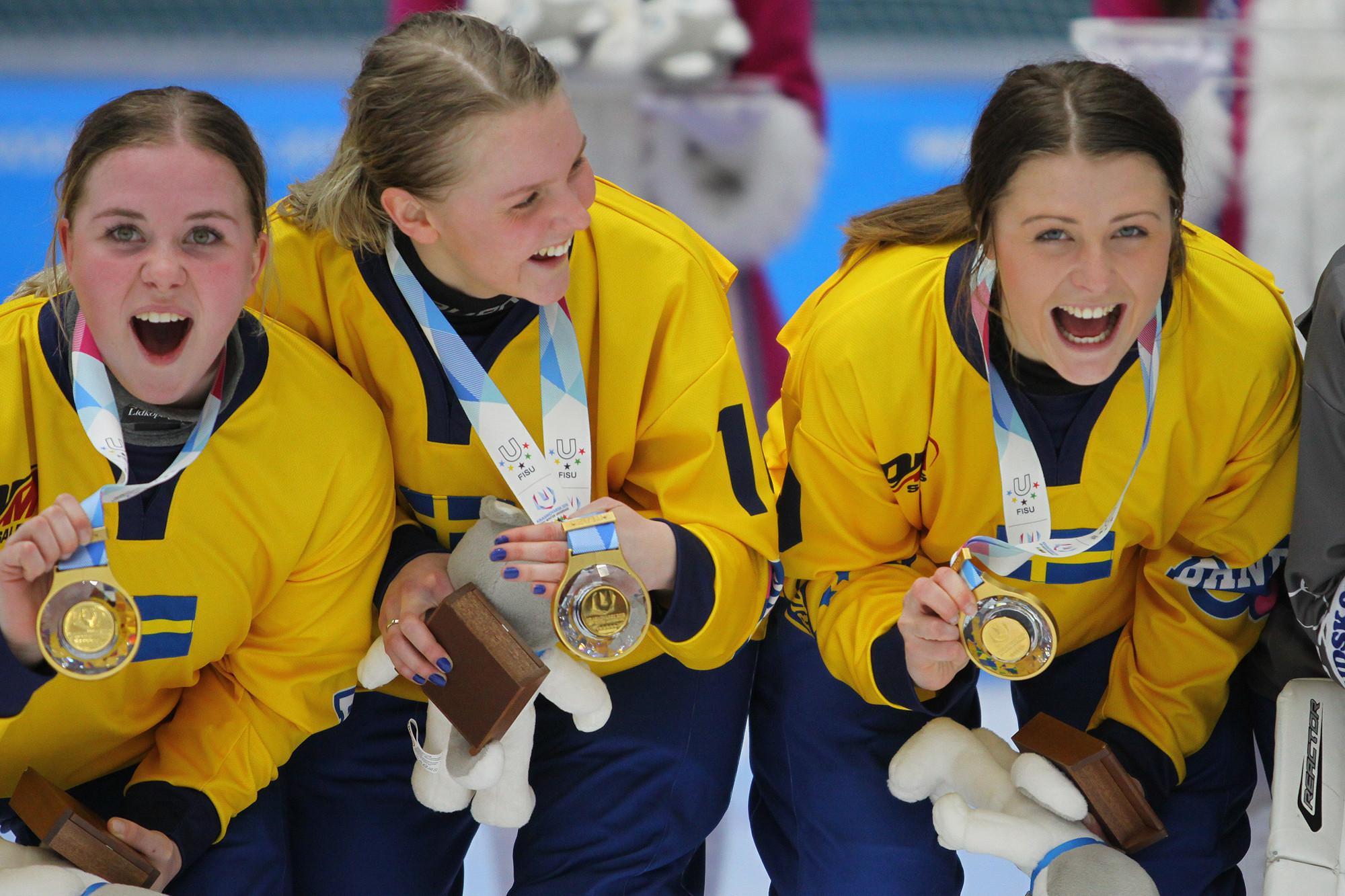 Sweden stun hosts Russia to win women's bandy final at Krasnoyarsk 2019