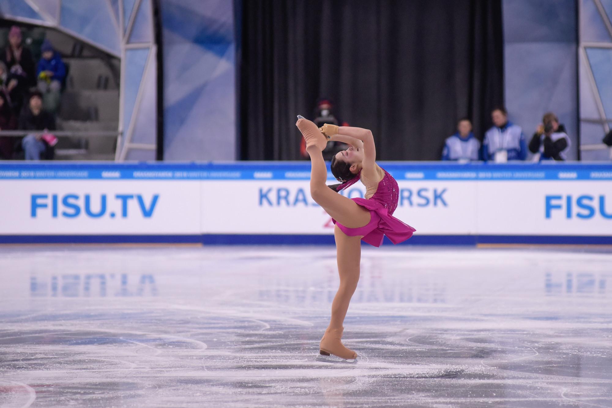 Japan's Mihara builds on lead to triumph in women's figure skating at Krasnoyarsk 2019