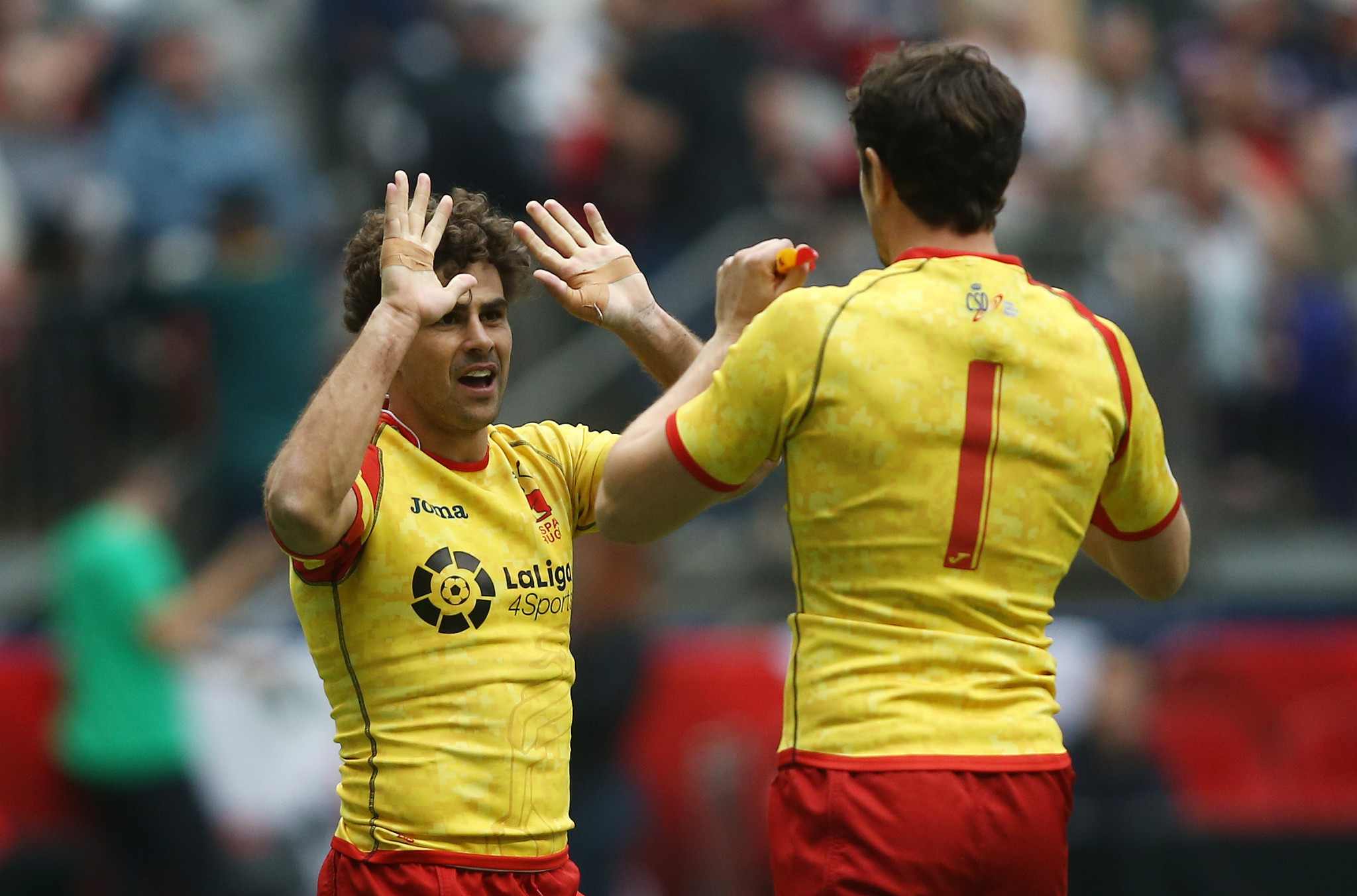Spain pulled off a shock win over New Zealand in Vancouver but still finished bottom of their pool ©Getty Images