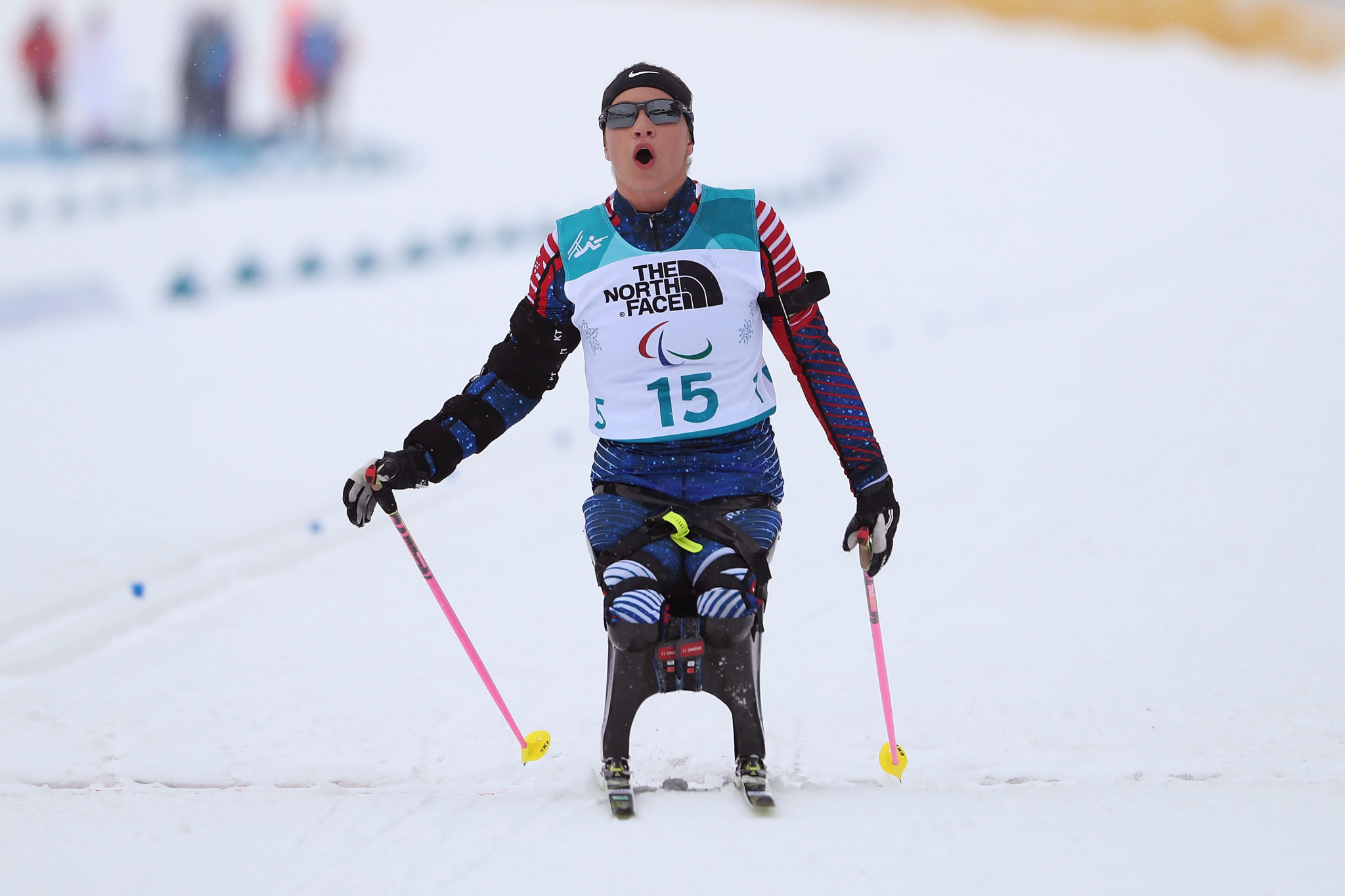 Oksana Masters was named as the winner of the women's award for February ©Getty Images