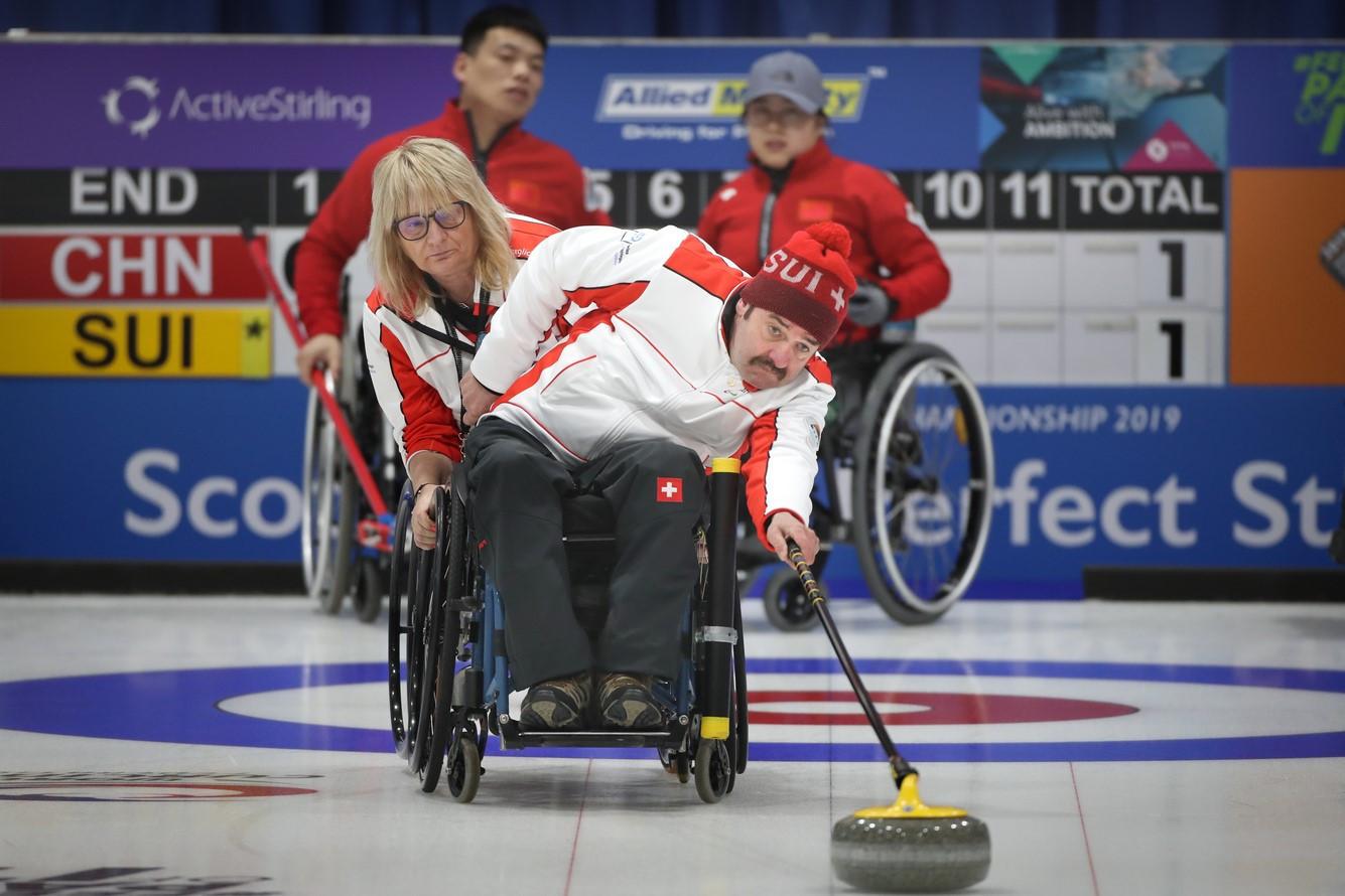 Switzerland to host 2020 World Wheelchair Curling Championship