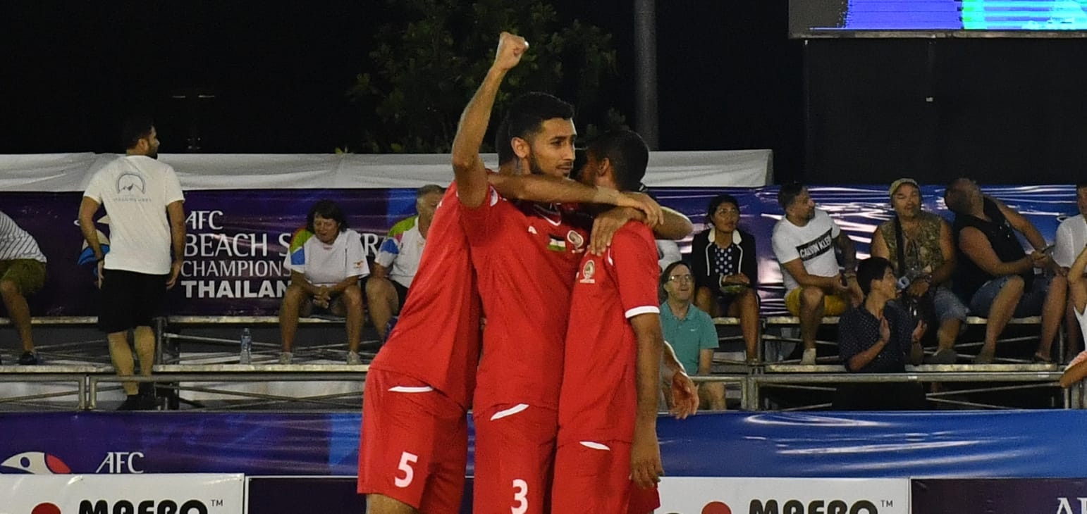 Palestine secured their place as Group A winners with a 6-5 win over Malaysia ©AFC