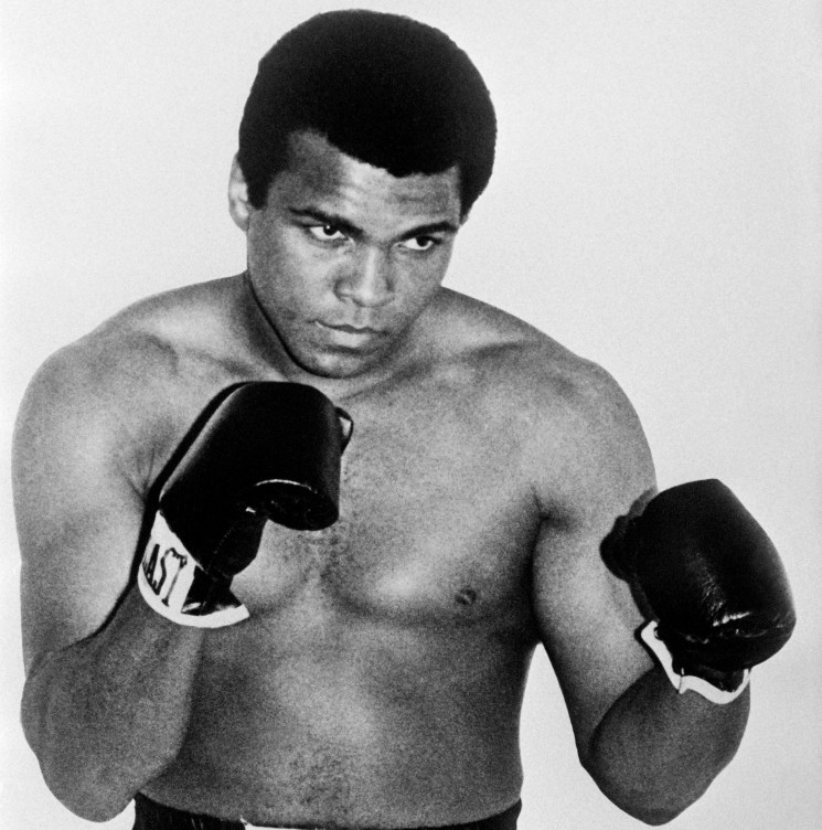Muhammad Ali is one of the legendary names in the Hall of Fame ©Getty Images