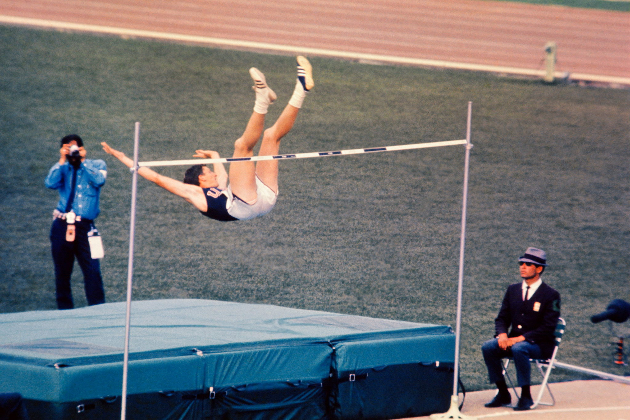 Dick Fosbury, now the US Olympians and Paralympians' Association President, welcomed the news ©Getty Images
