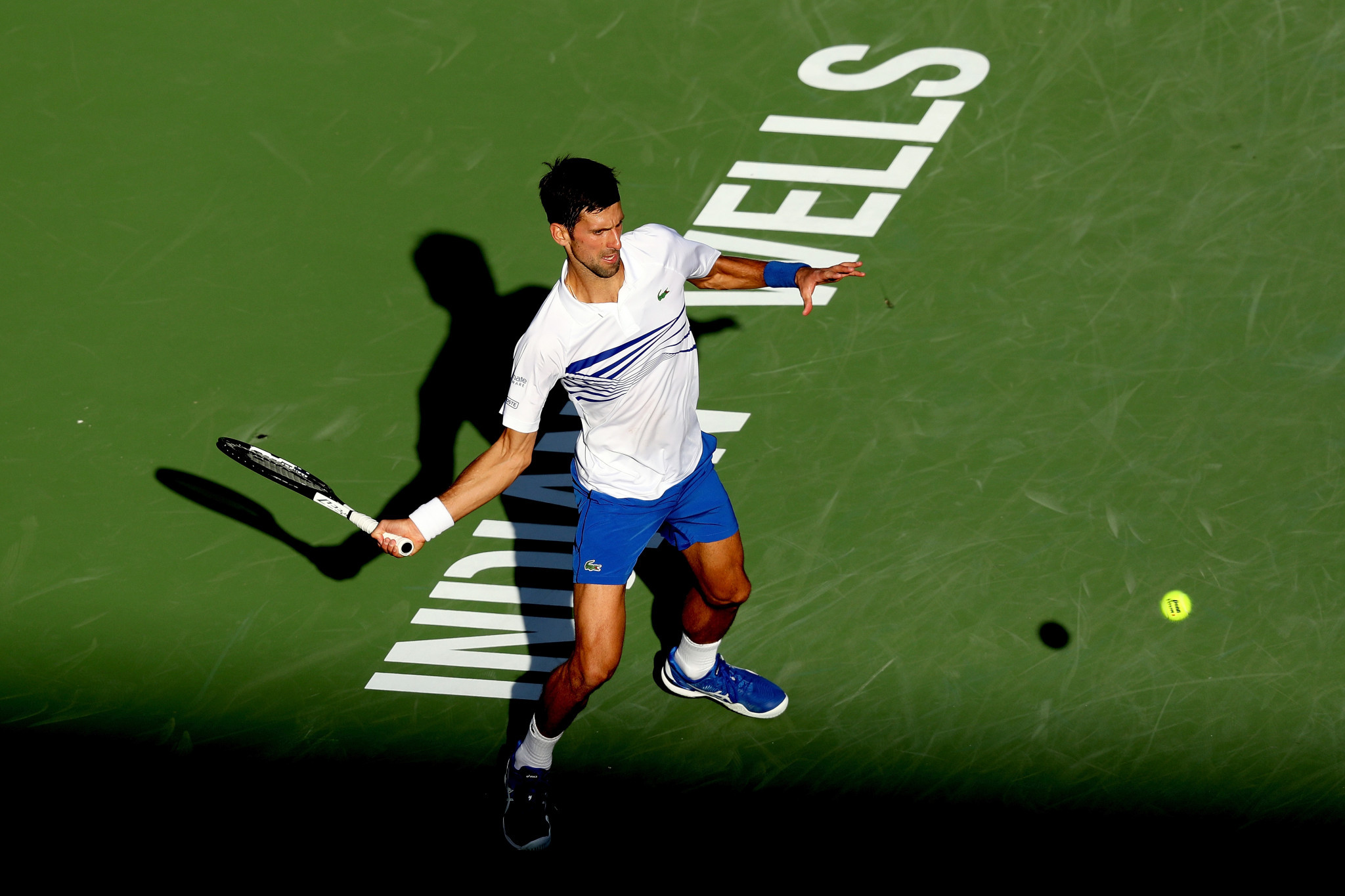 World number one Novak Djokovic made a third-round exit at the ATP tournament in Indian Wells, California ©Getty Images