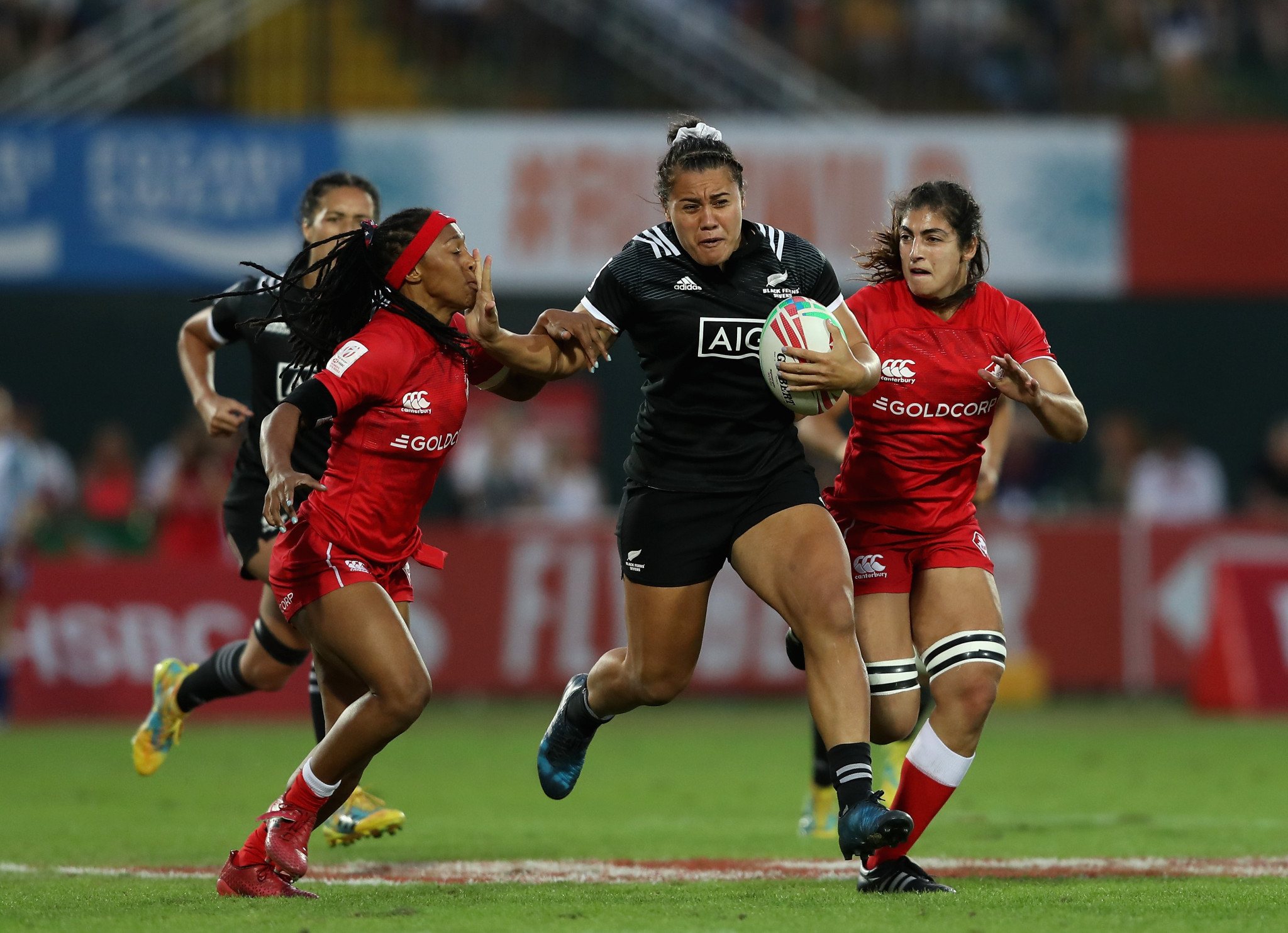 The World Rugby Sevens Series circuit will feature six combined men's and women's rounds for the next four seasons ©Getty Images