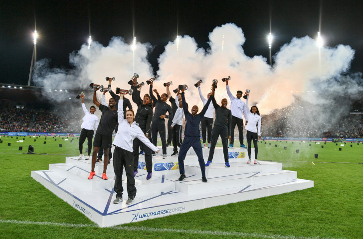 When two become one - from 2020 the IAAF will have one rather than the two current Diamond League finals held in Zurich and Brussels ©Getty Images