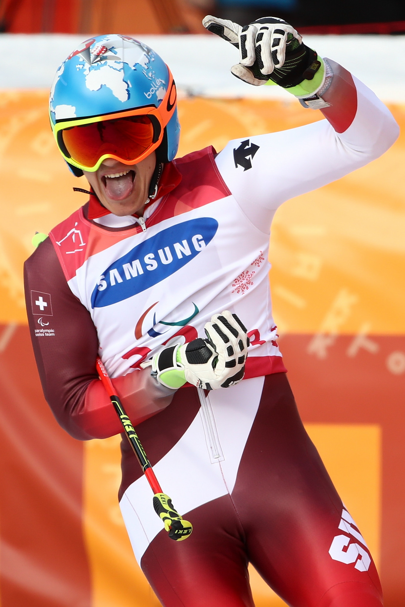 Third time golden for Gmur as he beats Bauchet at World Para Alpine Skiing World Cup in La Molina