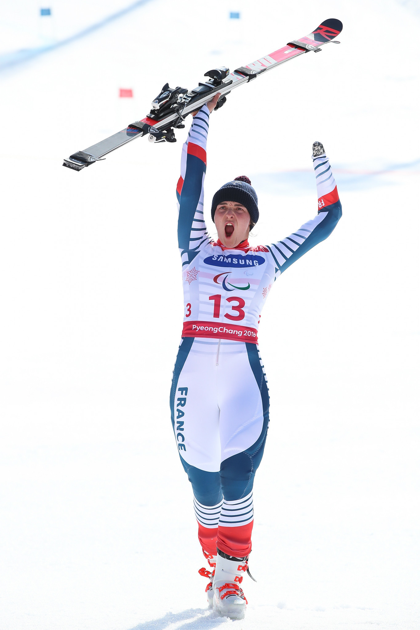 Bochet concludes season with perfect record at World Para Alpine Skiing World Cup in La Molina