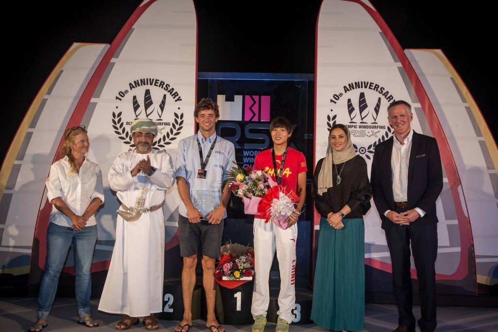 Le Coq holds off rivals to claim men's title at RS:X World Windsurfing Championships