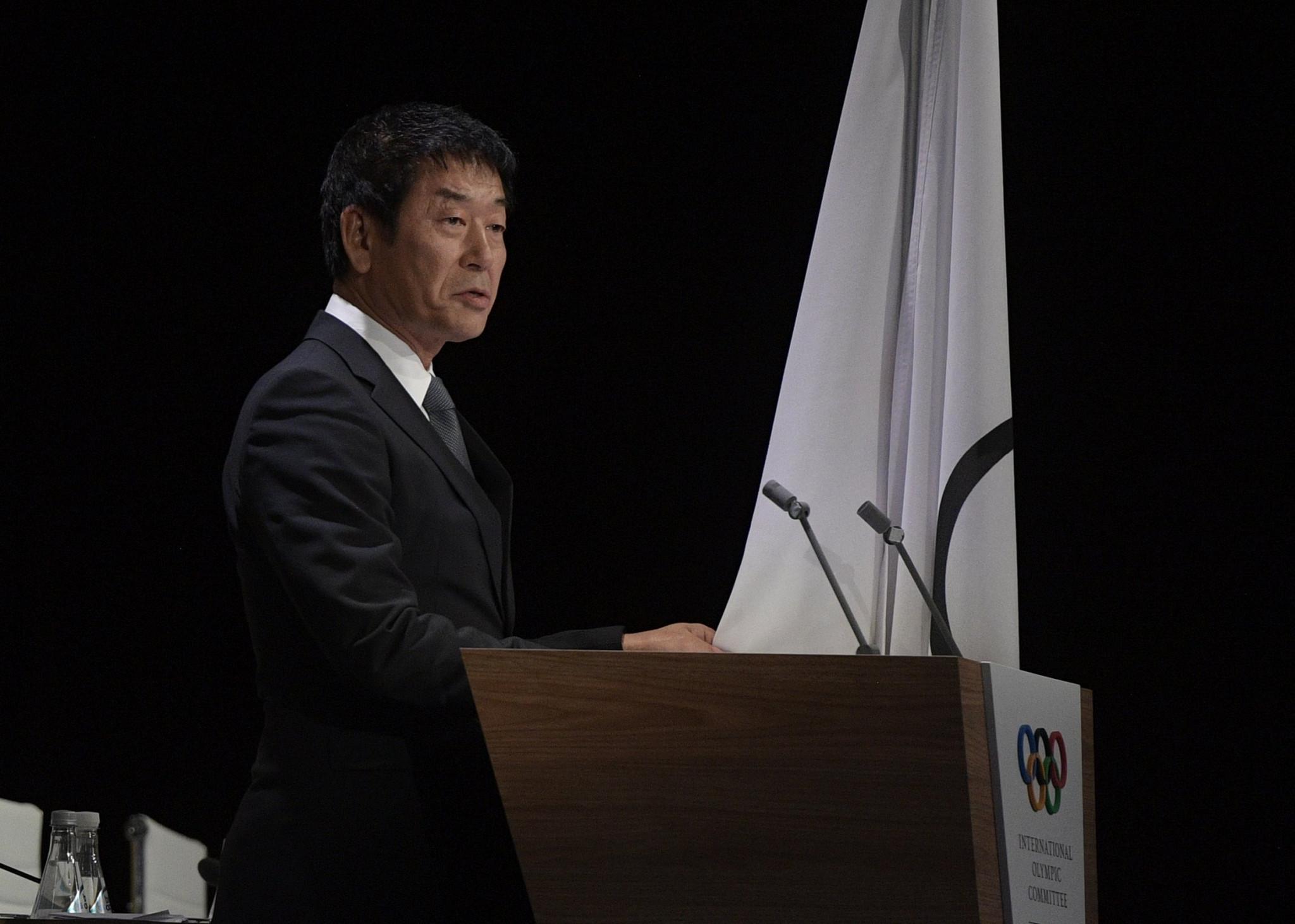 Morinari Watanabe, FIG President, was formerly general-secretary of JGA ©Getty Images