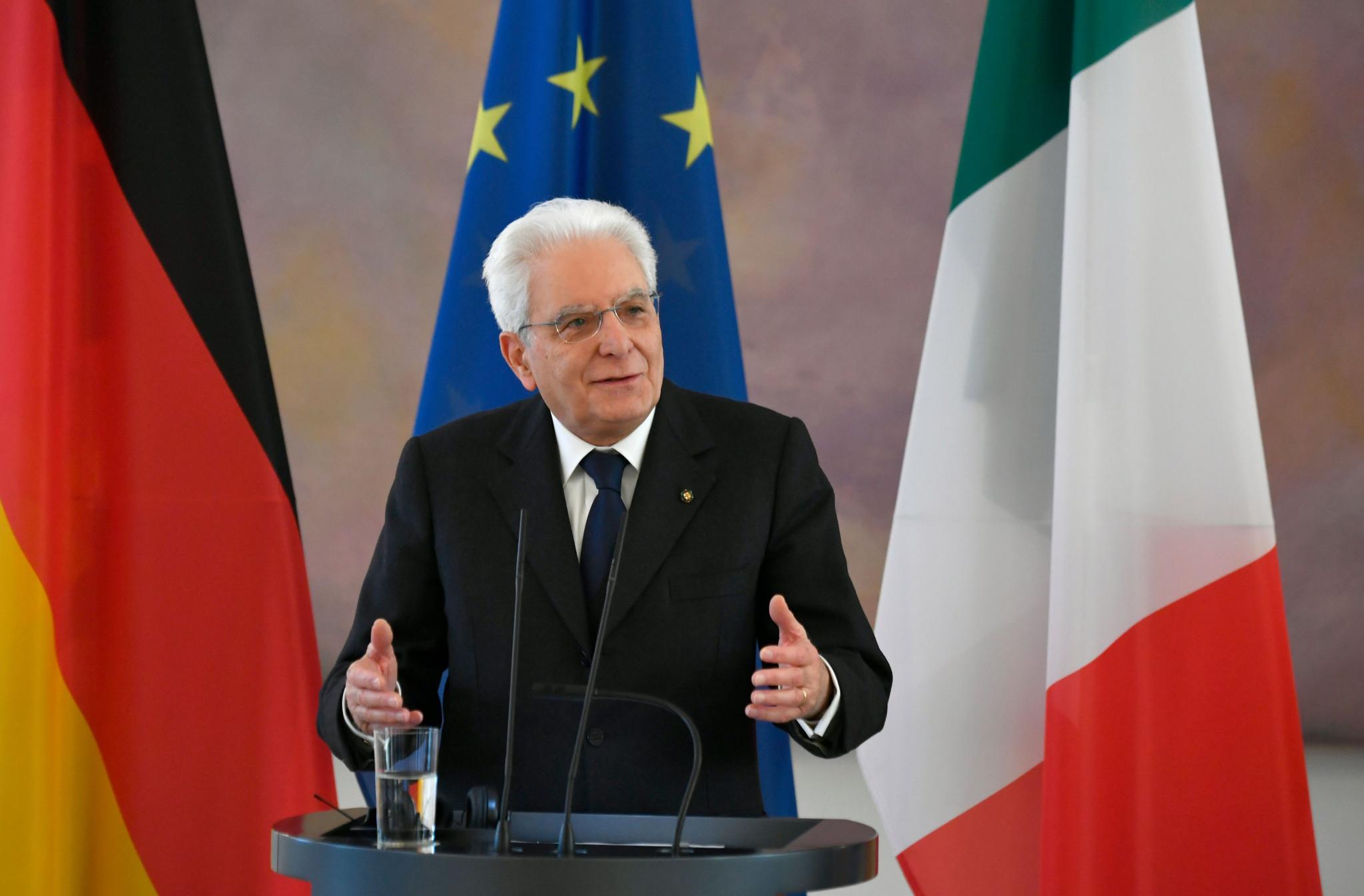 Italy's President Sergio Mattarella has already promised the