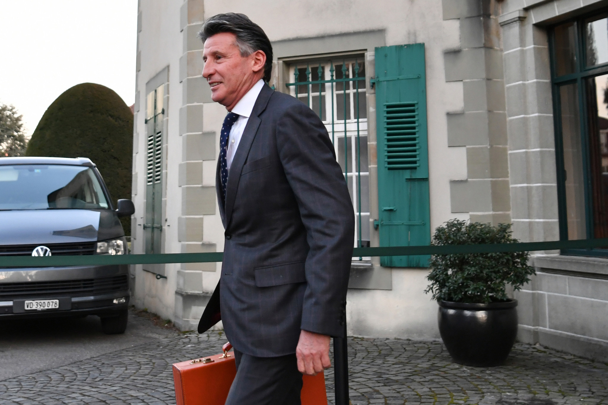 """The IAAF, led by Sebastian Coe, says the UNHRC resolution contains """"many generic and inaccurate statements"""" ©Getty Images"""