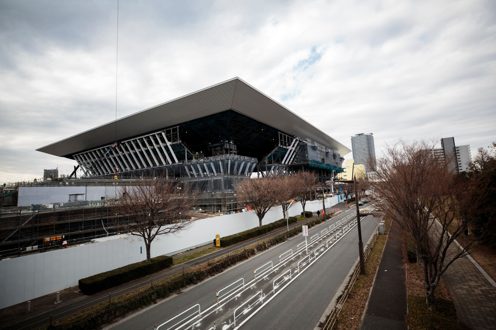 The capacity of the Aquatics Centre is 15,000 ©Getty Images