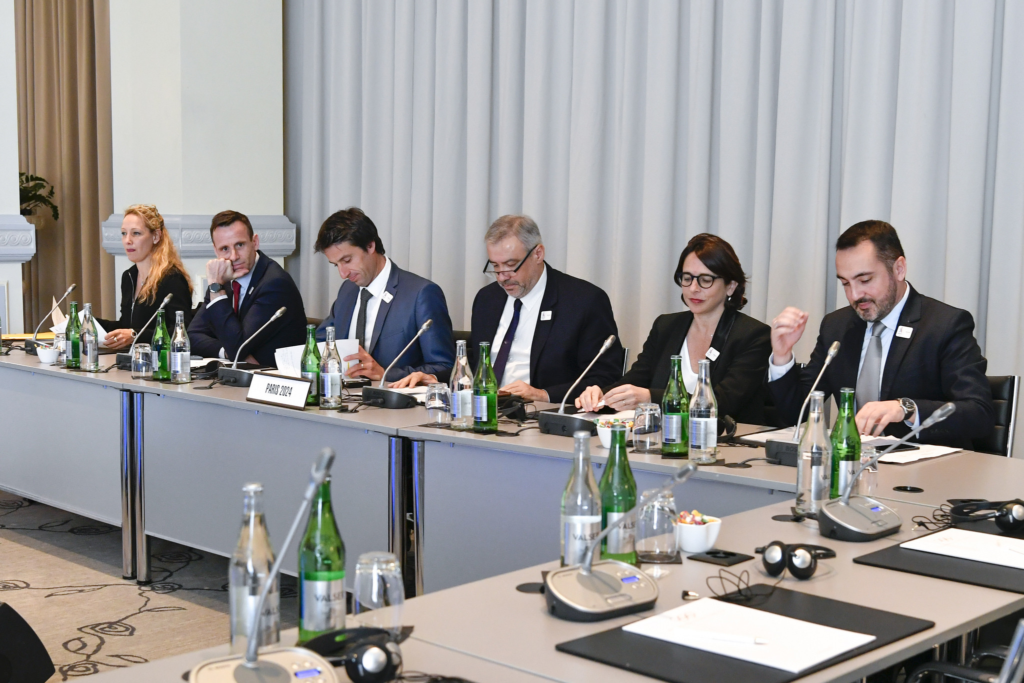 Paris 2024 presented their proposals to the IOC Executive Board today ©IOC
