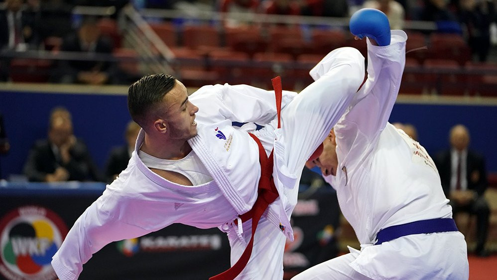 European athletes will look for a strong performance at the 2021 European Karate Championships, which acts as part of the Olympic qualification process ©WKF