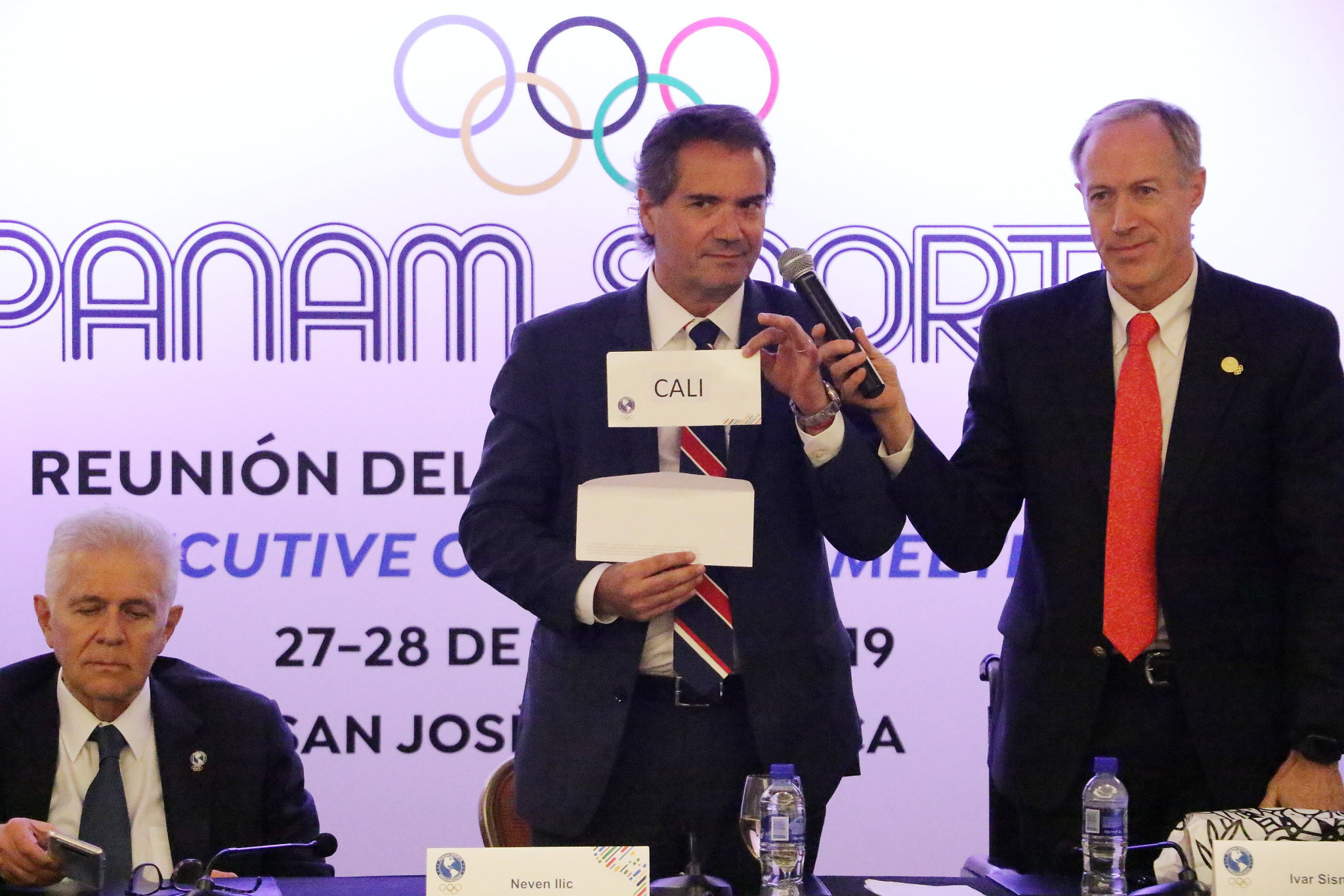 Panam Sports President Neven Ilic announces that Cali will host the first edition of the Junior Pan American Games in 2021 ©Panam Sports