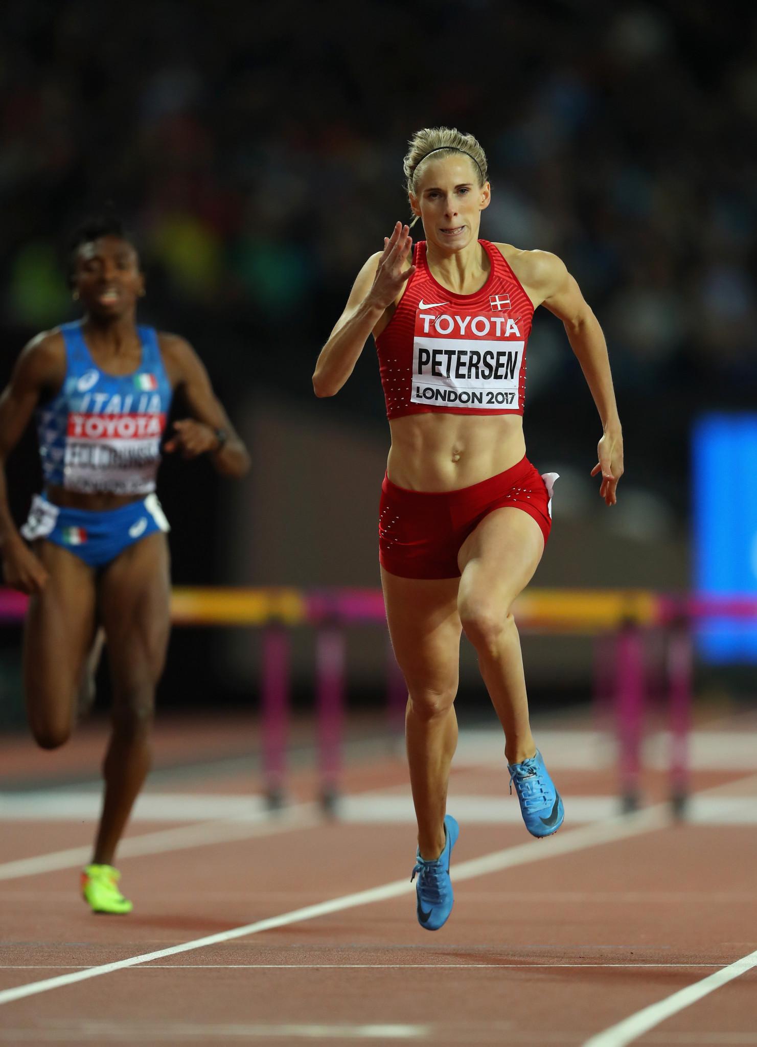 Olympic 400m hurdles silver medallist Sara Slott Petersen ©Getty Images