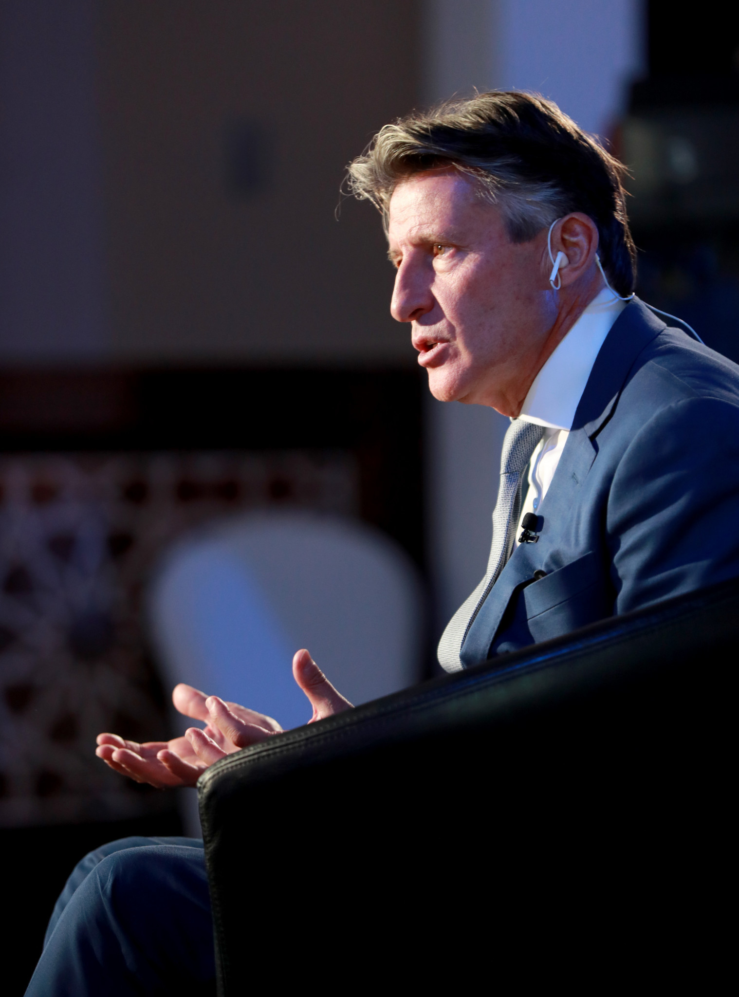 IAAF President Lord Coe ©Getty Images