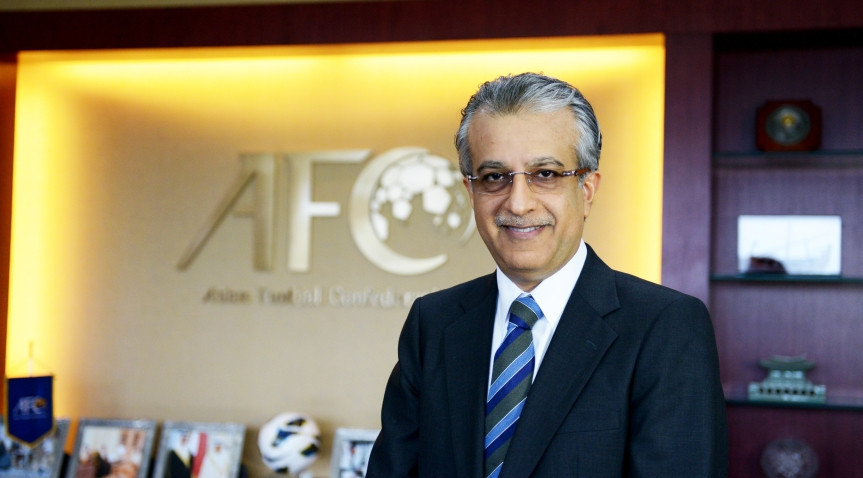 Bahrain's Sheikh Salman bin Ebrahim Al Khalifa will be unopposed for President of the Asian Football Confederation in Kuala Lumpur on April 6 after both his rivals withdrew ©AFC