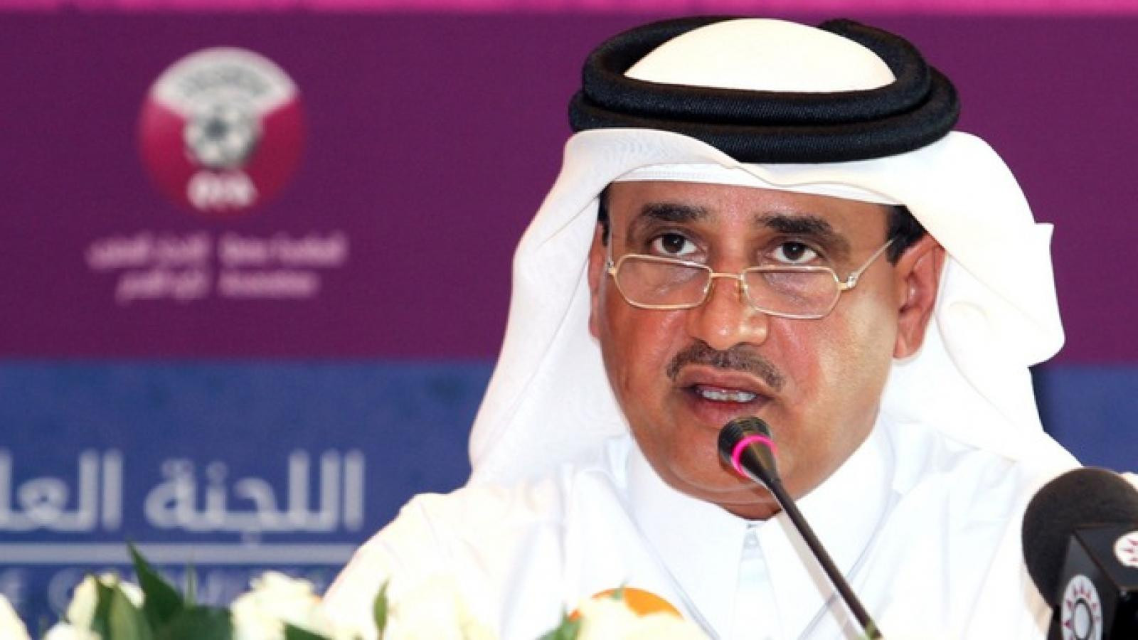 Qatar's Saoud Al Mohannadi has officially withdrawn as a candidate for President of the Asian Football Confederation after Sheikh Salman let it be publicly known that 40 out of 47 countries backed him ©Getty Images