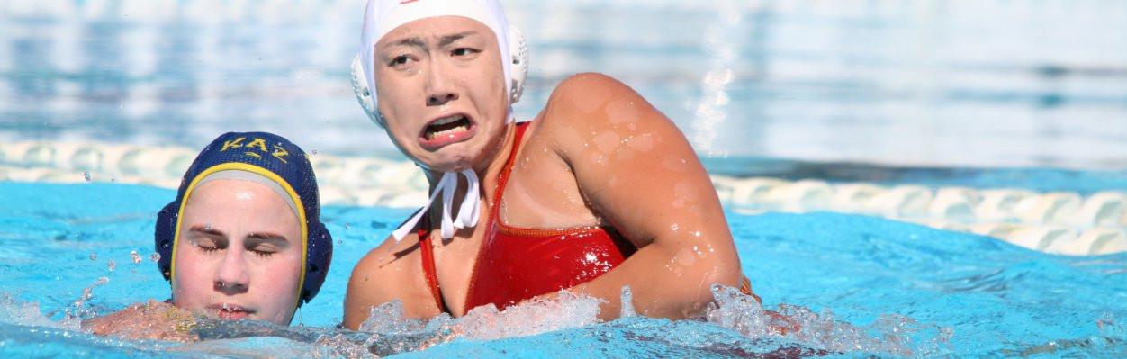 Japan reached the women's final ©FINA