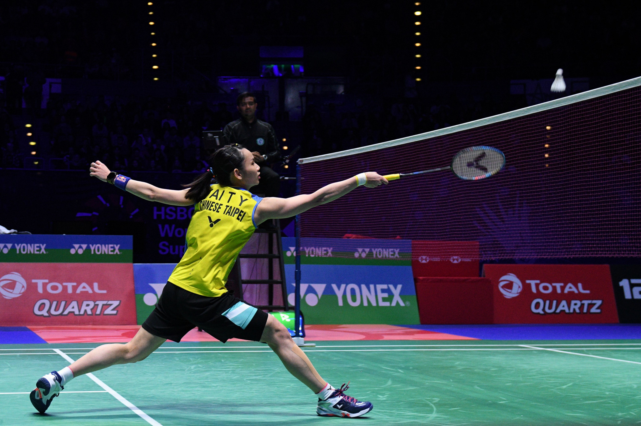 Tai Tzu Ying of Chinese Taipei is considered the favourite in the women's competition at the BWF Malaysia Open ©Getty Images