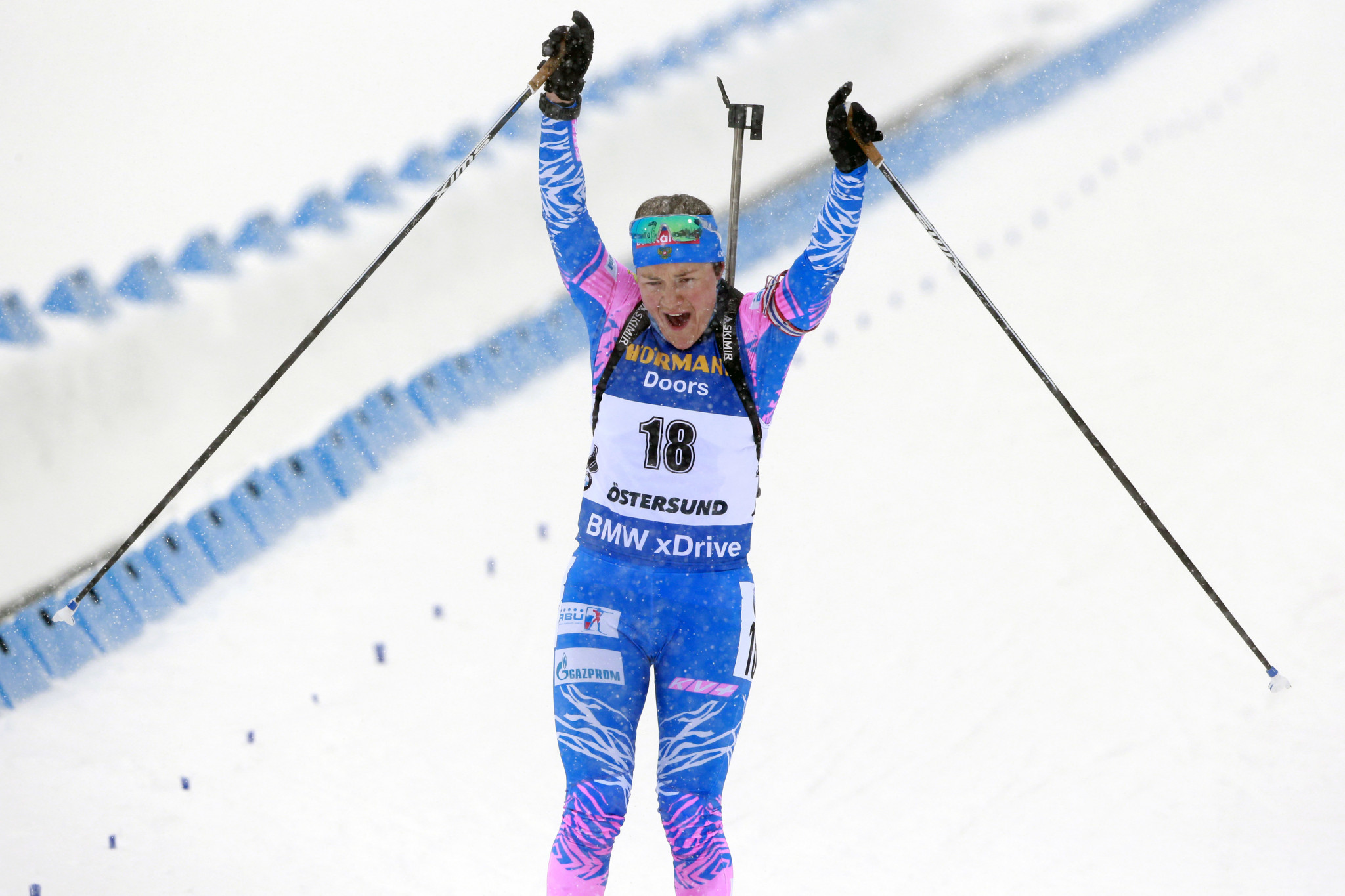 The Russian Biathlon Union reportedly thinks paying debts of around €60,000 (£51,500/$67,000) to the International Biathlon Union should be enough to regain full membership rights ©Getty Images
