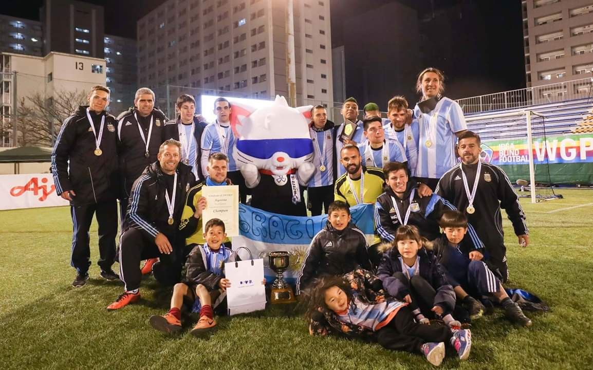 Argentina's blind football team among nominees for Americas Paralympic Committee athlete-of-the-month award