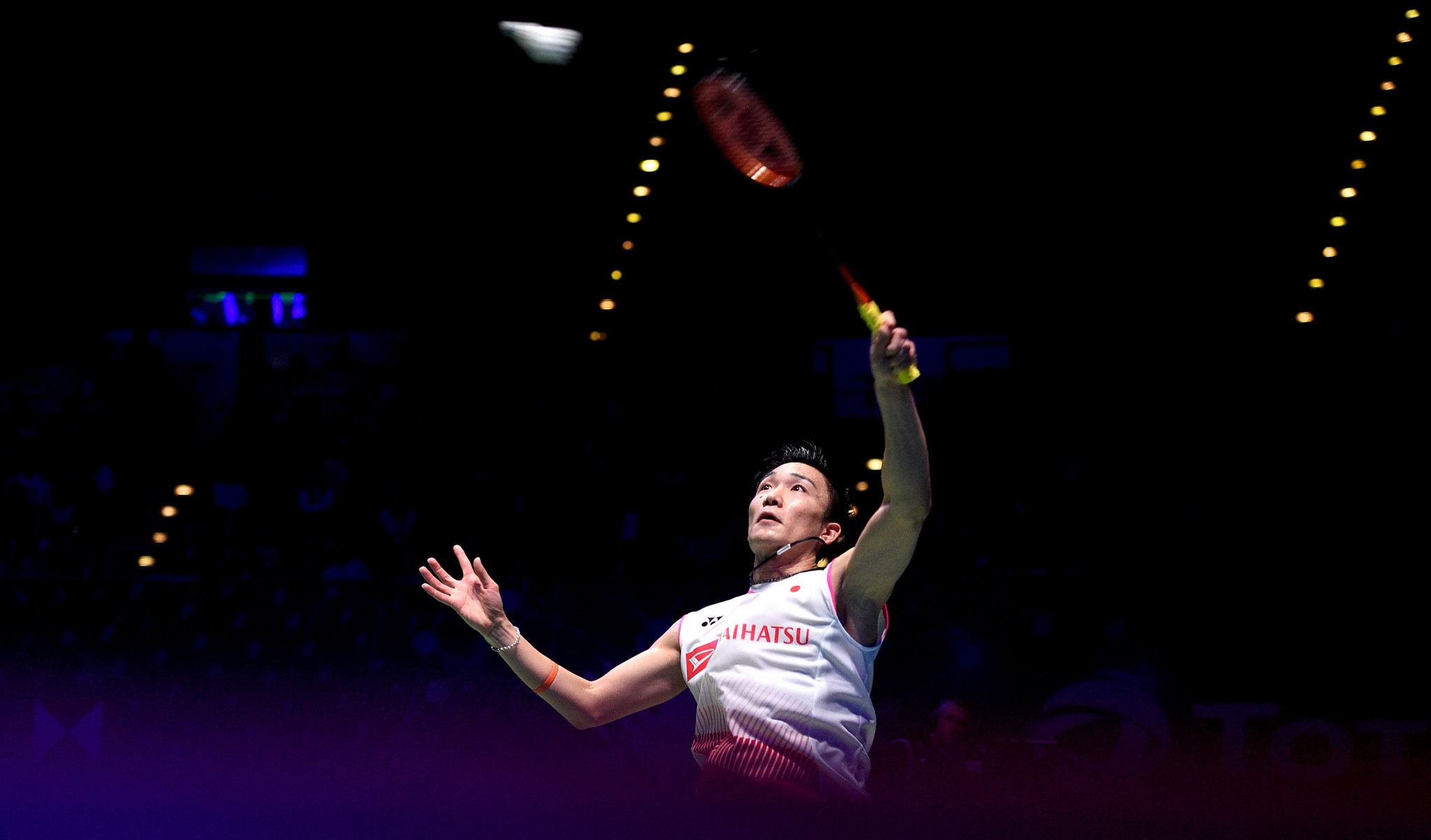 Japan's Kento Momota won his opening match at the BWF Malaysia Open ©Getty Images