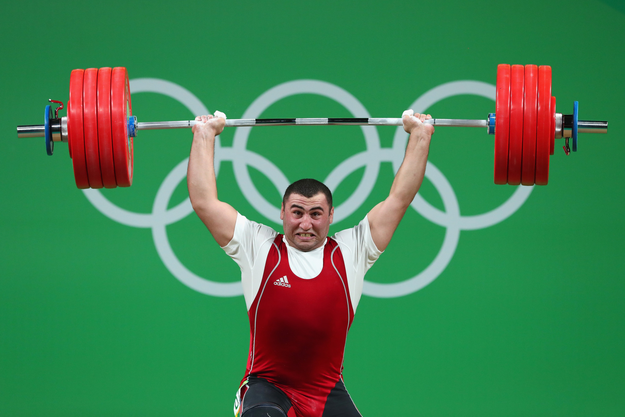 Simon Martirosyan in action at Rio 2016 ©Getty Images