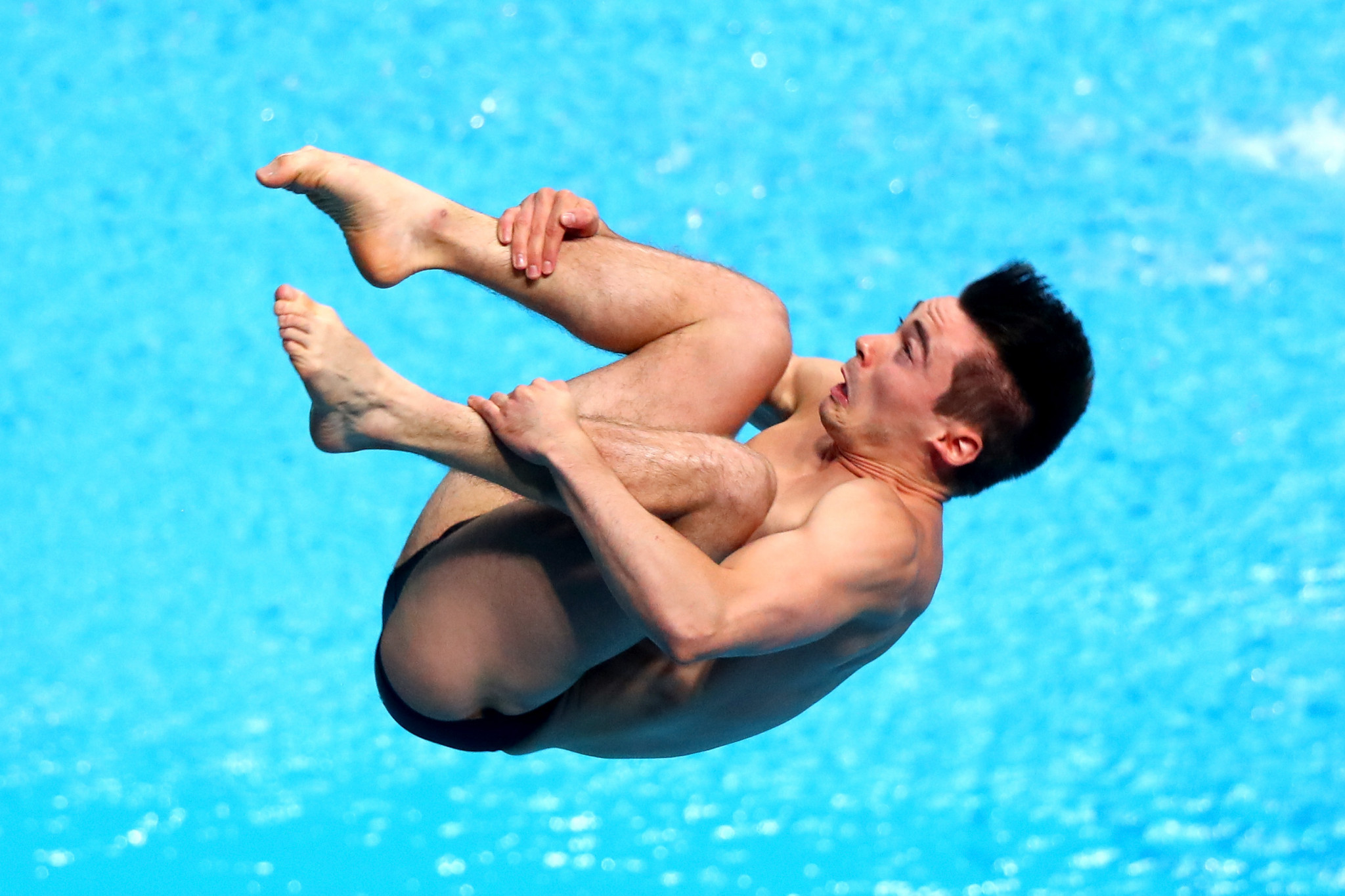 Daniel Goodfellow eased into the men's 3m springboard semi-final ©Getty Images