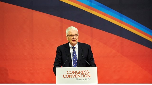 Svein Arne Hansen is set to be re-elected President of European Athletics when the continental governing body holds its Congress this weekend ©European Athletics