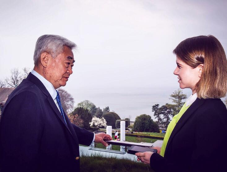 "World Taekwondo President Choue hails ""historic"" joint WT-ITF demonstration"