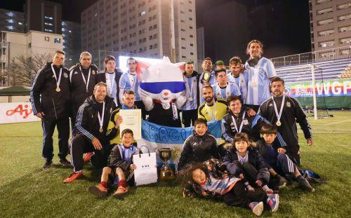 Argentina top latest IBSA football world rankings