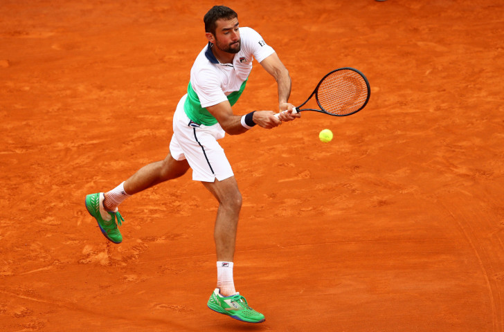 Marin Cilic suffered a shock defeat at the Monte Carlo Masters tennis tournament ©Getty Images