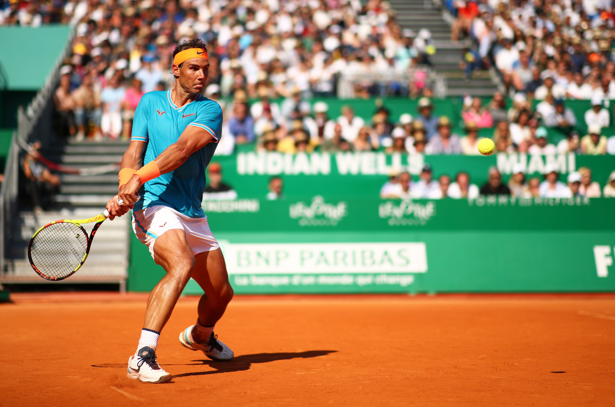 Spain's Rafael Nadal began his Monte-Carlo Masters title defence with victory ©Getty Images