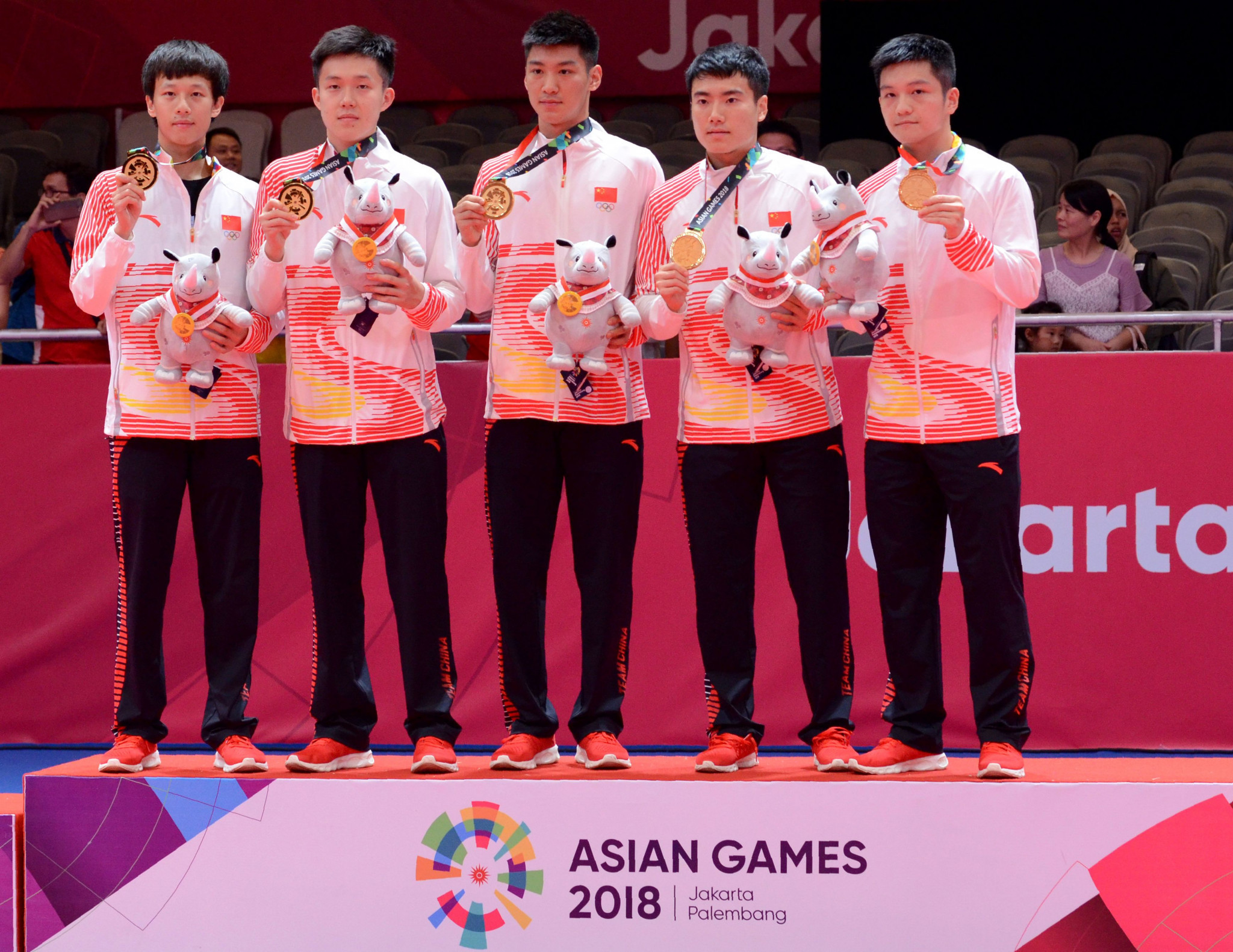 China's most recent expression of domination in table tennis - team gold at the 2018 Asian Games in Jakarta ©Getty Images